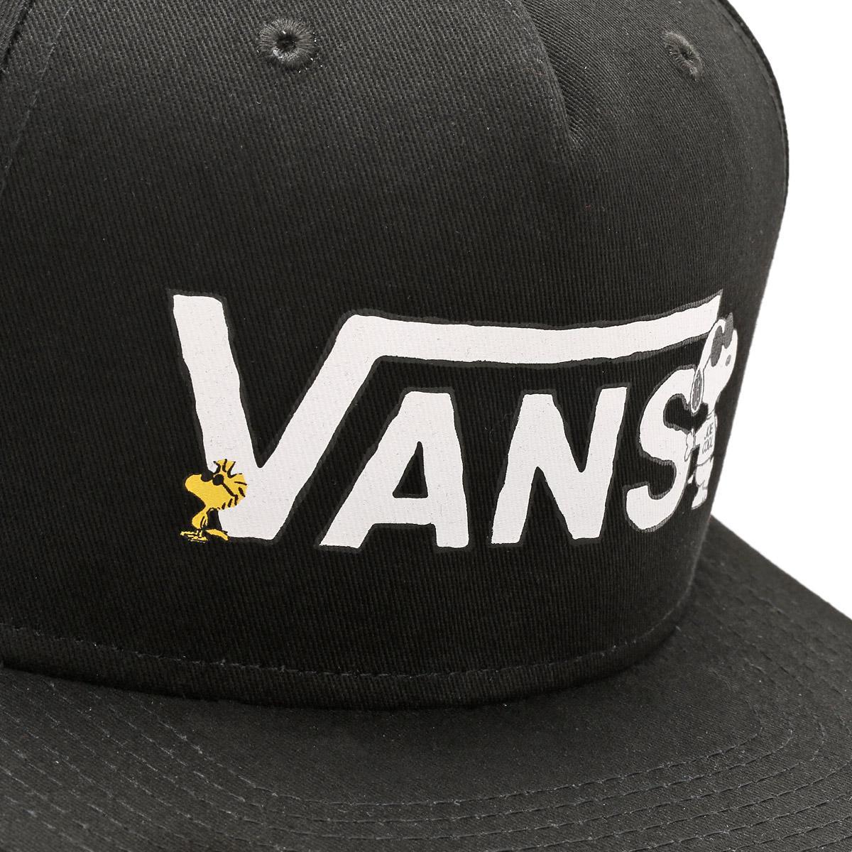 Vans X Peanuts Snapback Cap in Black for Men - Lyst c362ec2c478