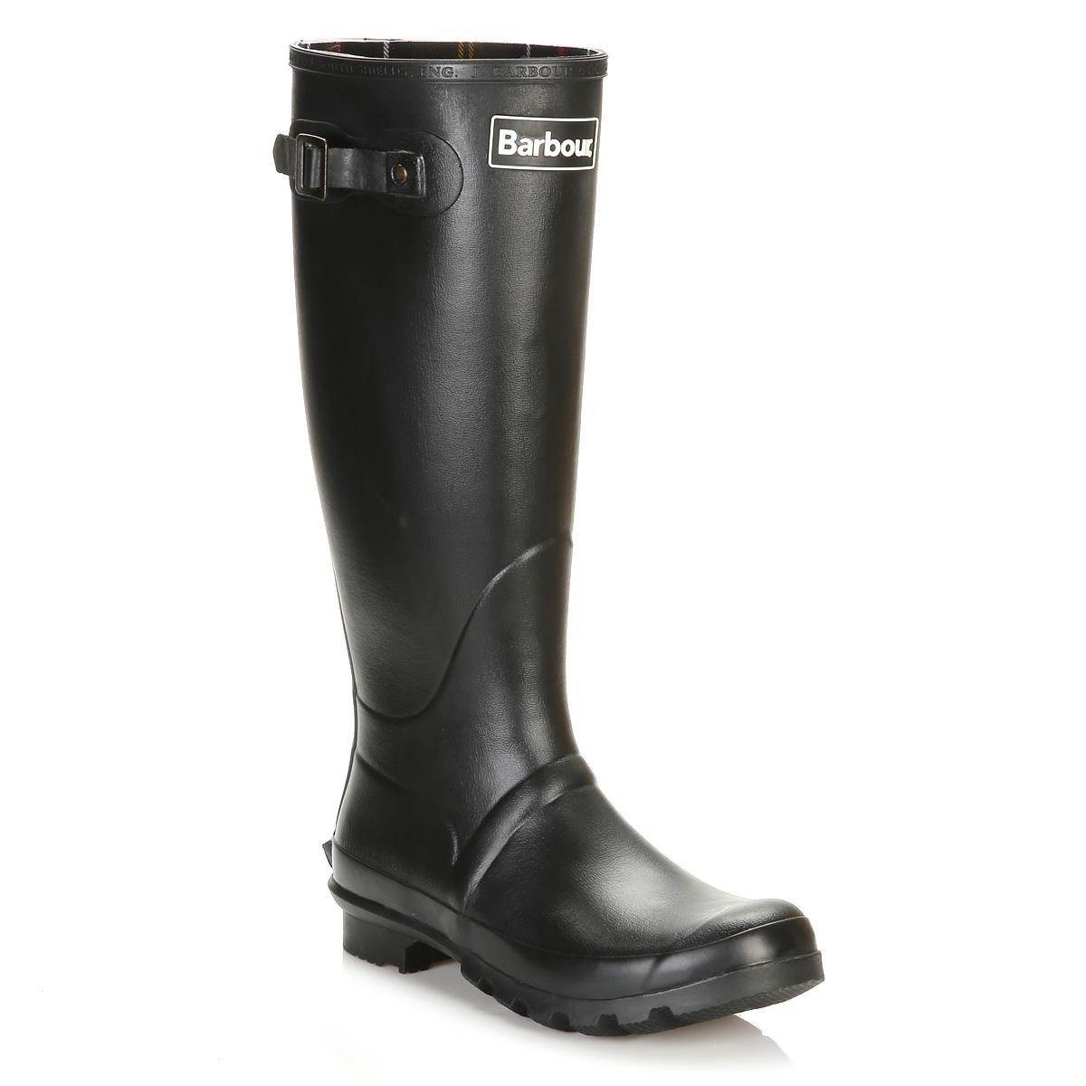 22555cfeece Lyst - Barbour Mens Black Bede Wellington Boots in Black for Men