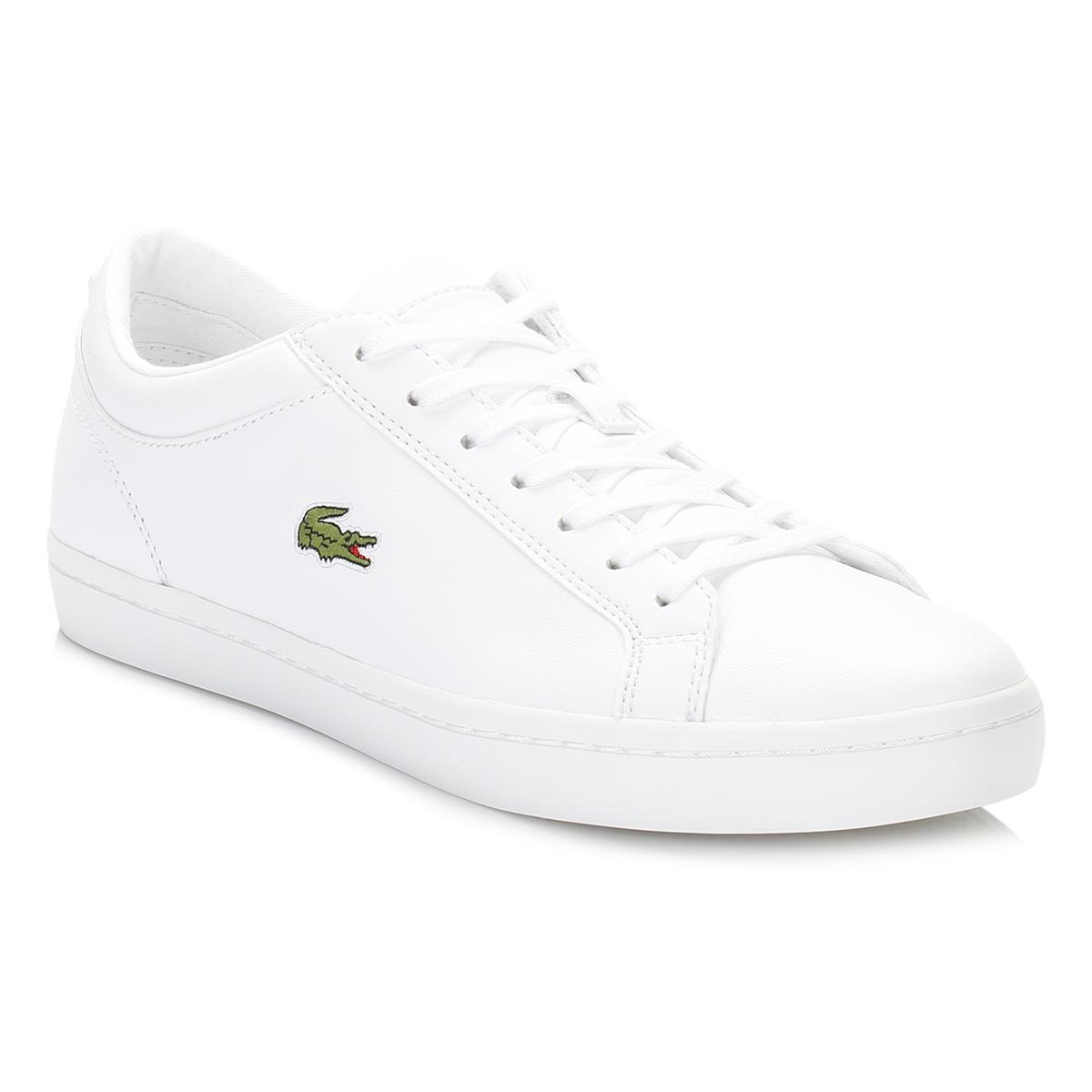 Graduate Leather White 13 Bl1 Save Lacoste In Trainers 2YI9WEHD