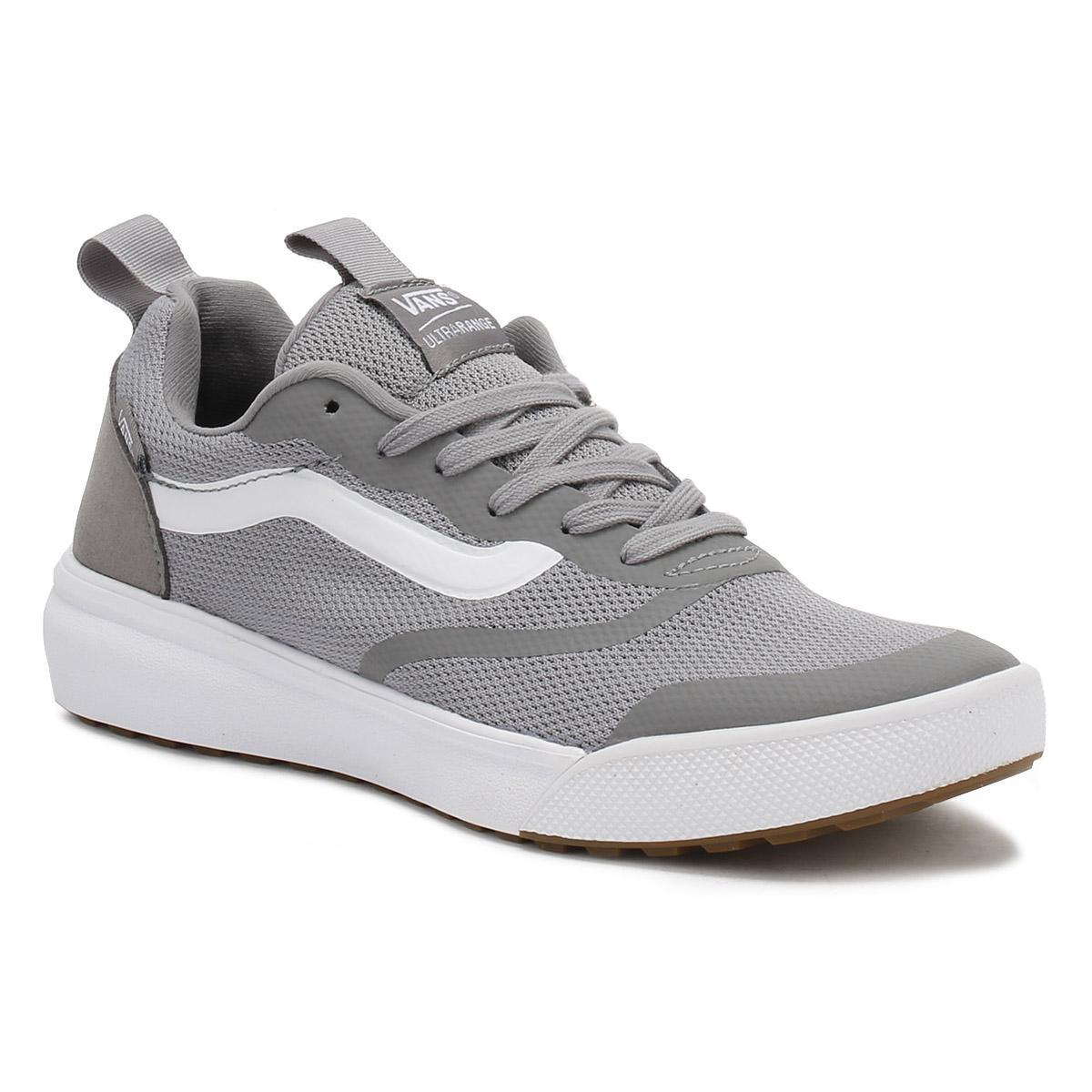ff2553ad67b58b Lyst - Vans Mens Grey Ultrarange Trainers in Gray for Men