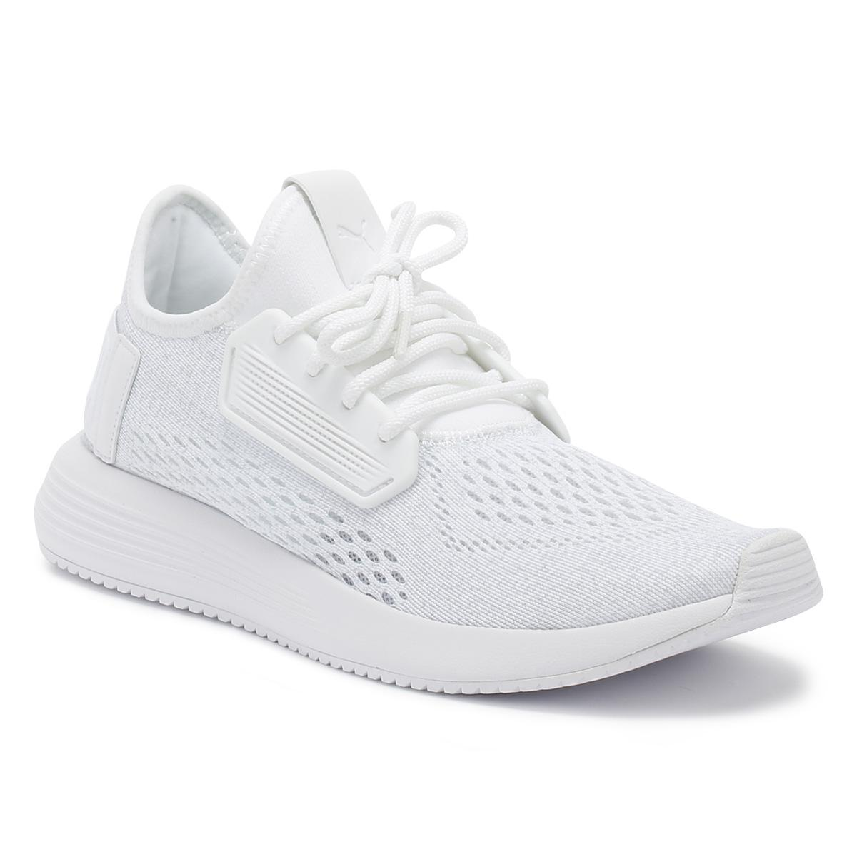 aa26102ed74f Lyst - PUMA Mens White Uprise Mesh Trainers in White for Men