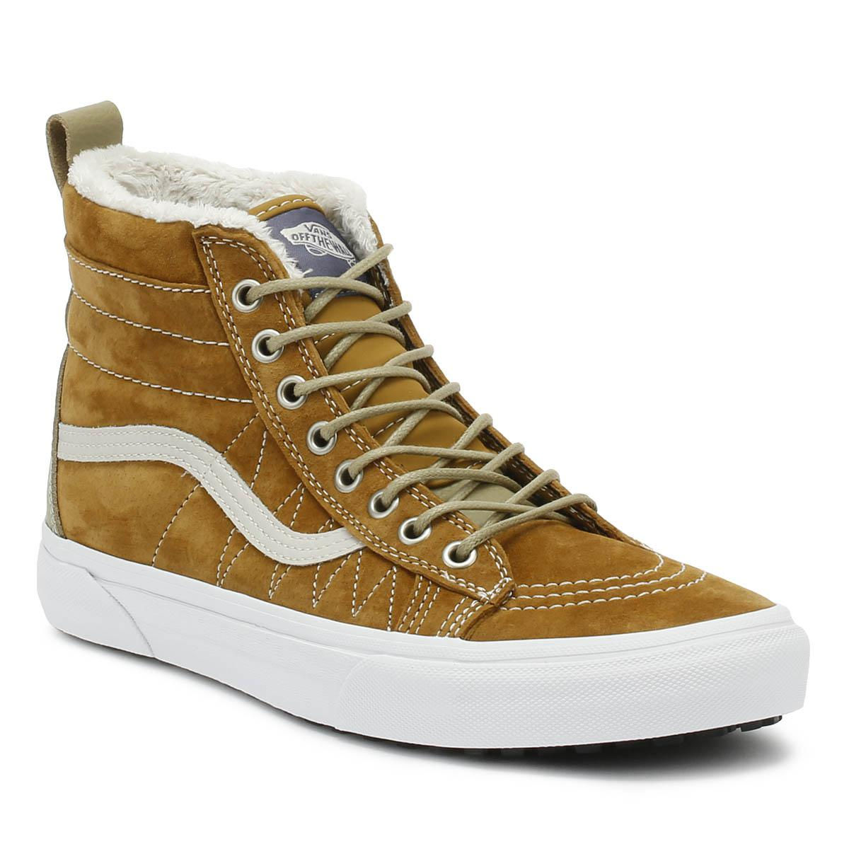 09faf1e594dfb5 Lyst - Vans Sk8-hi Mte Mens Cumin Brown Trainers in Brown for Men
