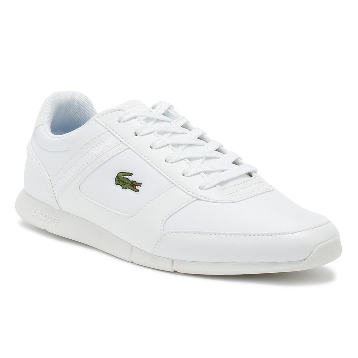 bd72b1828ac28f Lacoste Mens White Menerva Sport 318 2 Trainers in White for Men - Lyst