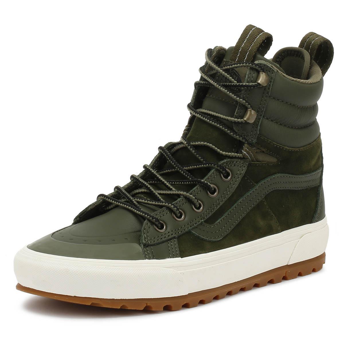 f42a78075fa069 Vans - Sk8-hi Mte Dx Grape Leaf Green Boots for Men - Lyst. View fullscreen