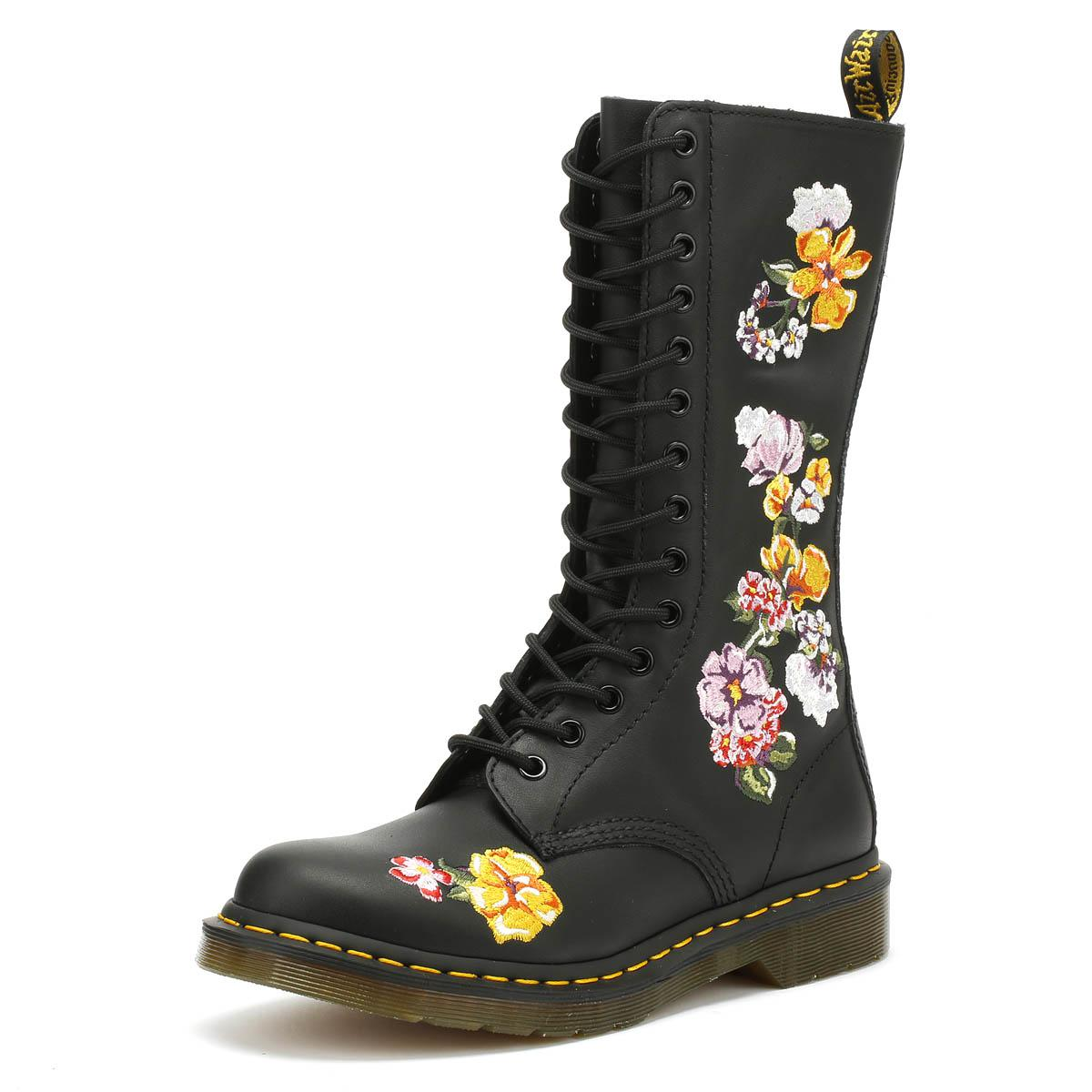 d85a37025983 Dr. Martens Dr. Martens Vonda Ii Womens Softy Black Boots in Black ...