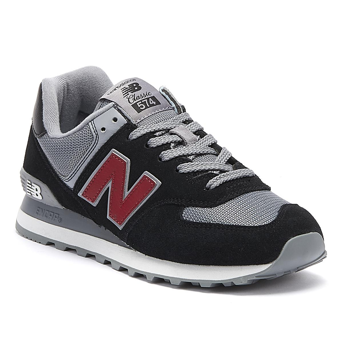 en soldes a5f18 807ae New Balance 574 Mens Navy Trainers in Blue for Men - Lyst