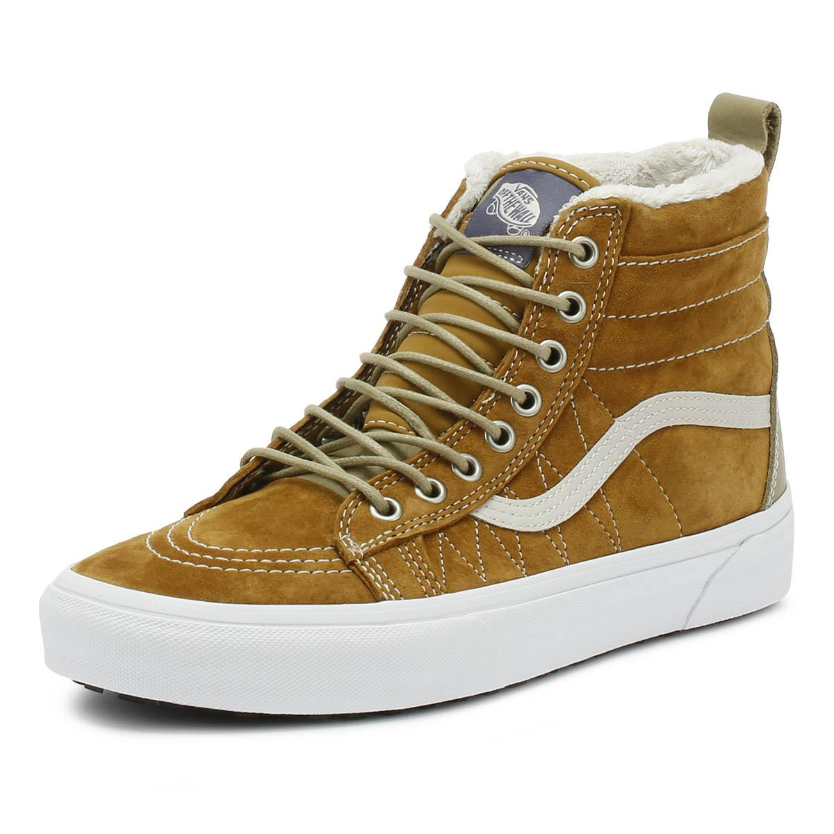 f673dbb74a70 Vans - Sk8-hi Mte Mens Cumin Brown Trainers for Men - Lyst. View fullscreen