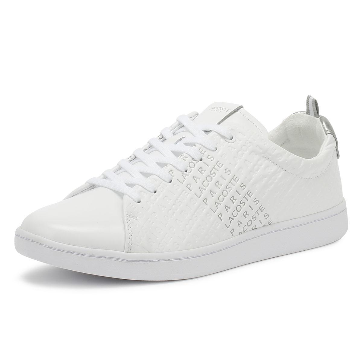 dd9d18715dbf5 Lacoste - Carnaby Evo 119 3 Womens Off White Trainers - Lyst. View  fullscreen