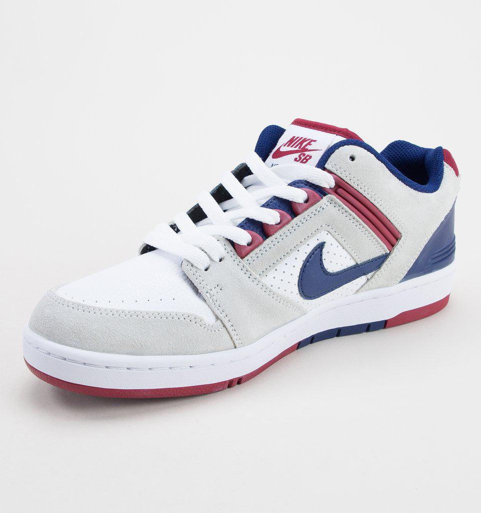 ff6112e335a Nike - Multicolor Sb Airforce Ii Low White-blue Void-red Crush Trainers  for. View fullscreen