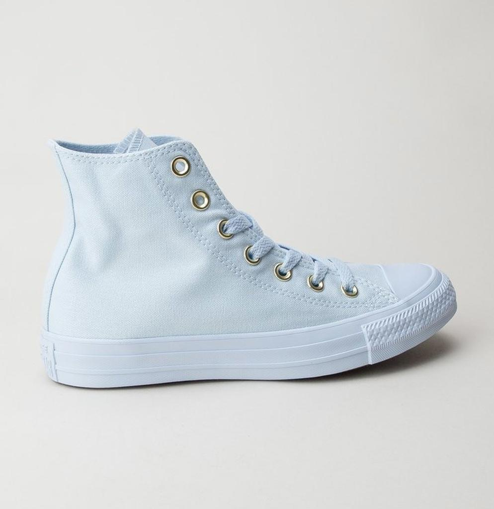 71164dcfc17c44 Converse 559939c Ct As Hi Blue Tint-blue Tint-gold Boots in Blue - Lyst