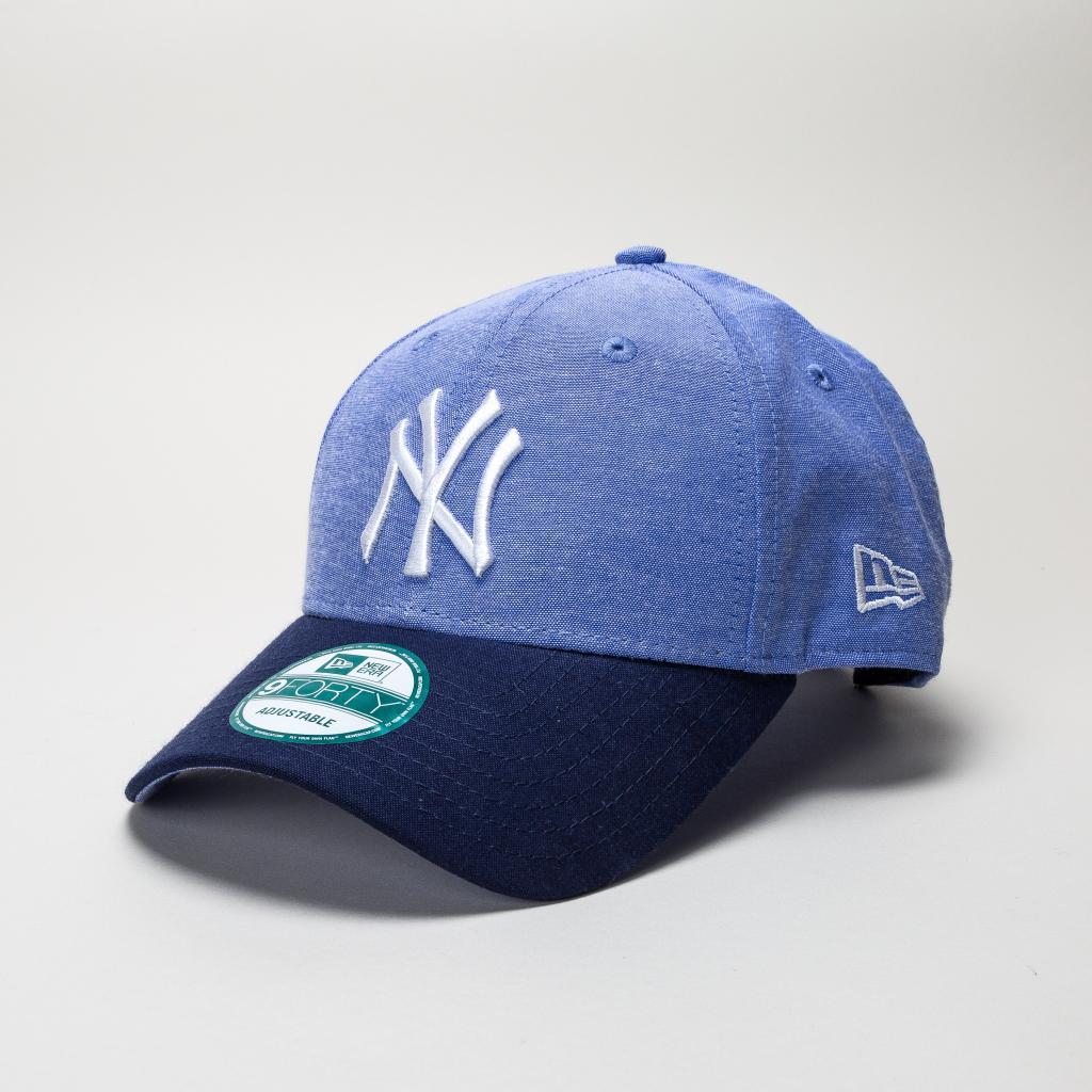 5e434ed5785 KTZ New Era Chambray Crown Ny Yankees Lry-navy Hats in Blue for Men ...