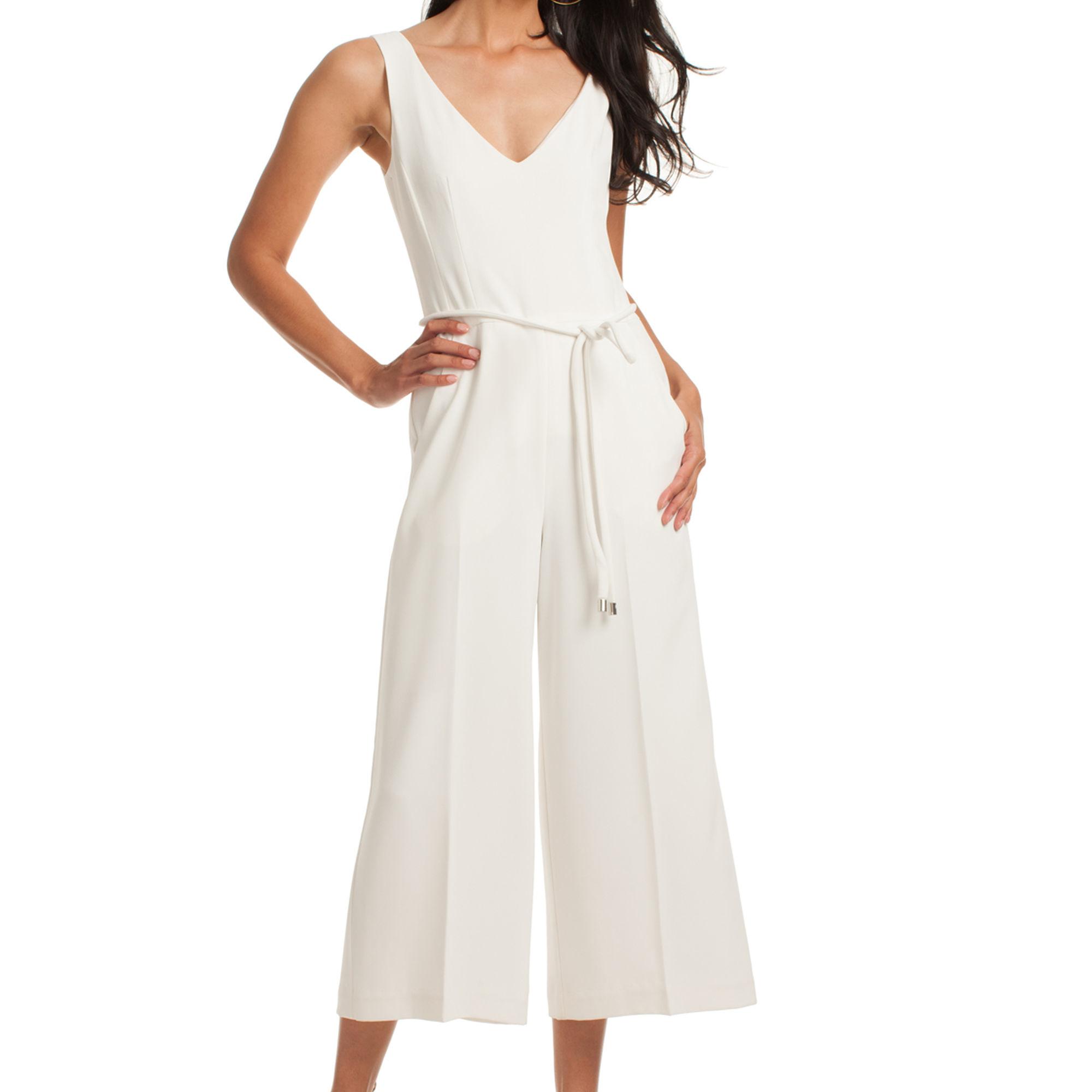 eb11ab6e3a3e Lyst - Trina Turk Deann Jumpsuit in White