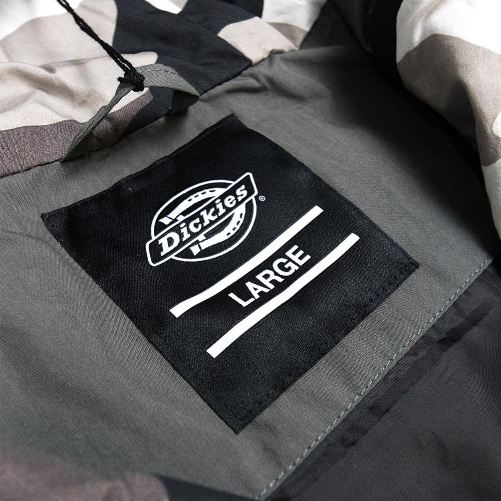 ff17639caa22a Dickies Charcoal Grey Pollard Hooded Smock Jacket in Gray for Men - Lyst