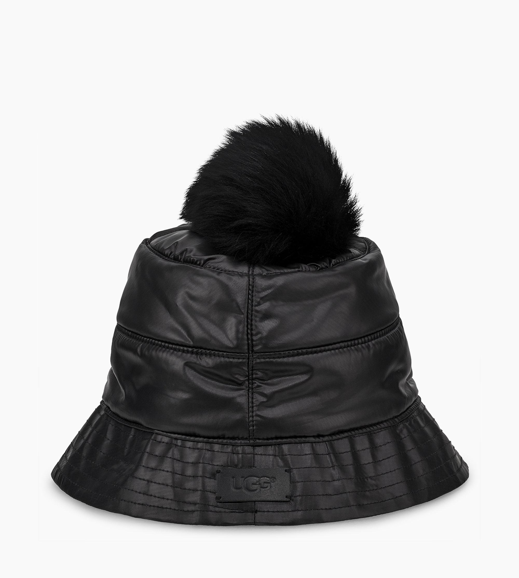 Lyst - UGG All Weather Bucket Hat W  Pom All Weather Bucket Hat W ... d6e878ff1036
