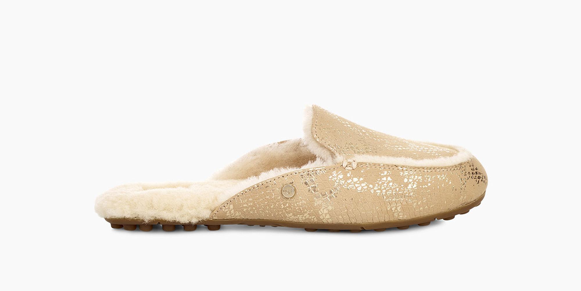 8031e4f8d2d Lyst - UGG Women s Lane Metallic Snake Loafer in Metallic