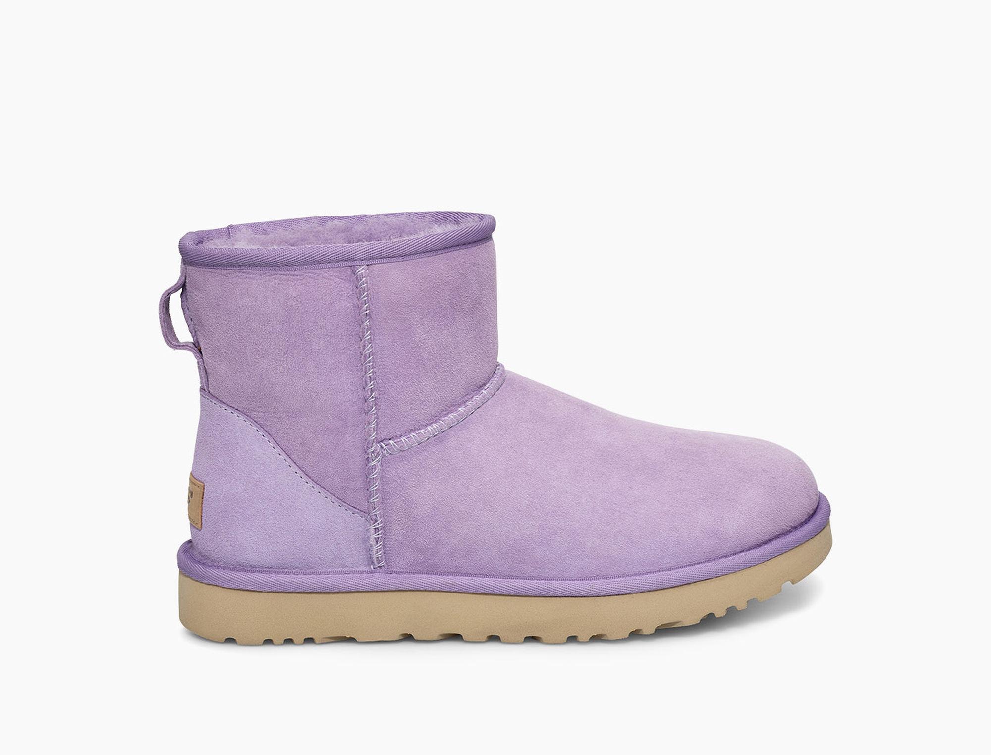 3847da4f99a Lyst - UGG Classic Mini Ii Boot Classic Mini Ii Boot in Purple