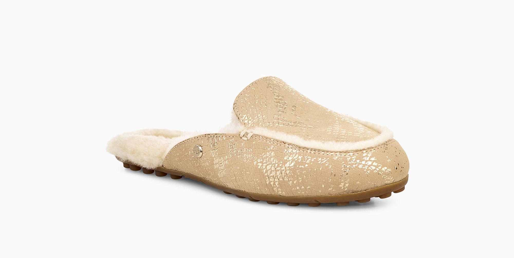 e300da3ba60 Ugg - Women s Lane Metallic Snake Loafer - Lyst. View fullscreen