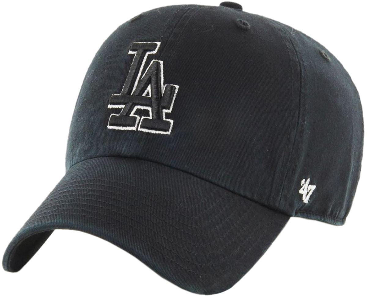 quality design 197fb 39d34 47 Brand. Men s Black Mlb Los Angeles Dodgers  47 Clean Up Adjustable  Baseball Cap