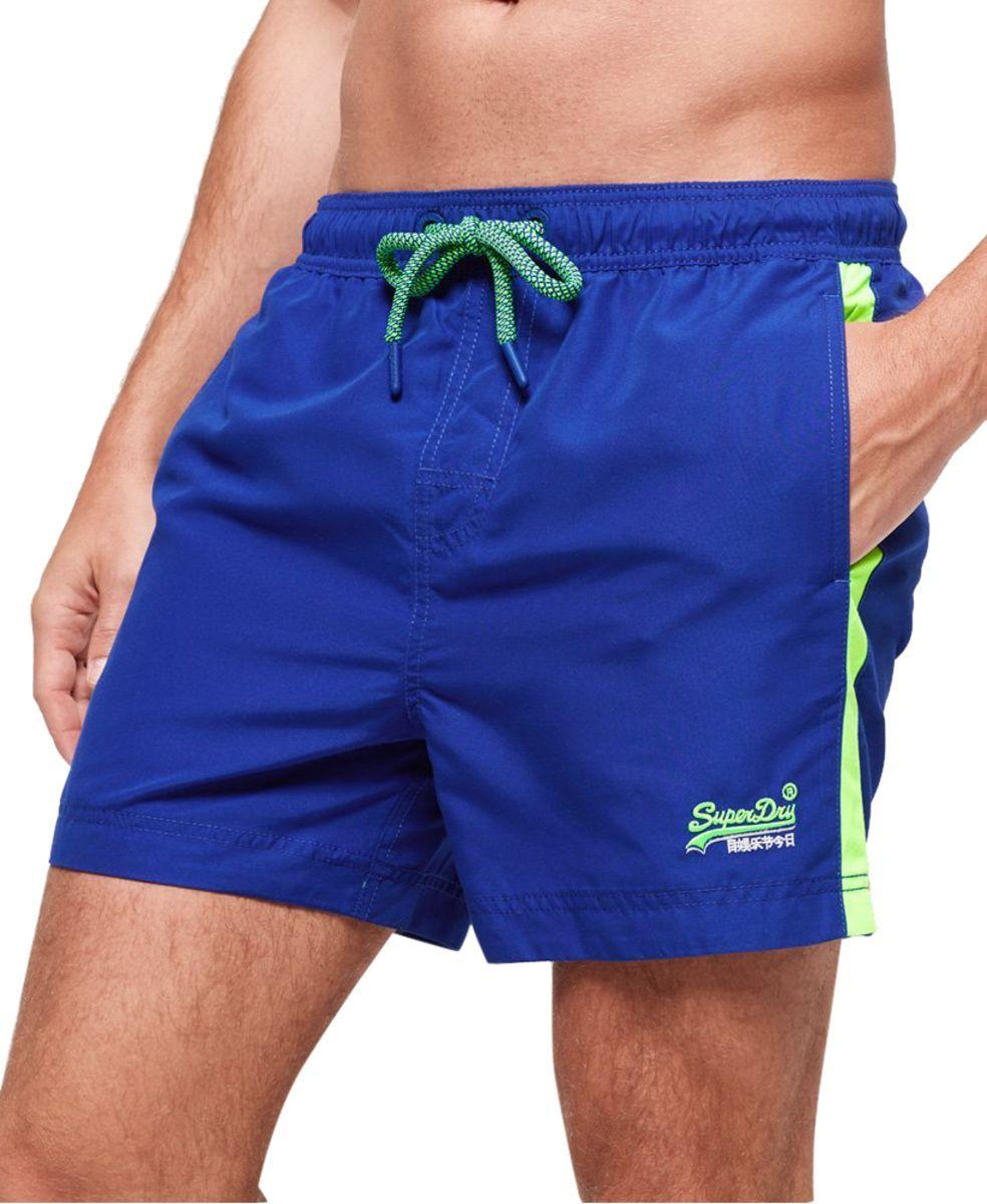 9b88af5d55 Superdry - Blue Beach Volley Swim Shorts for Men - Lyst. View fullscreen