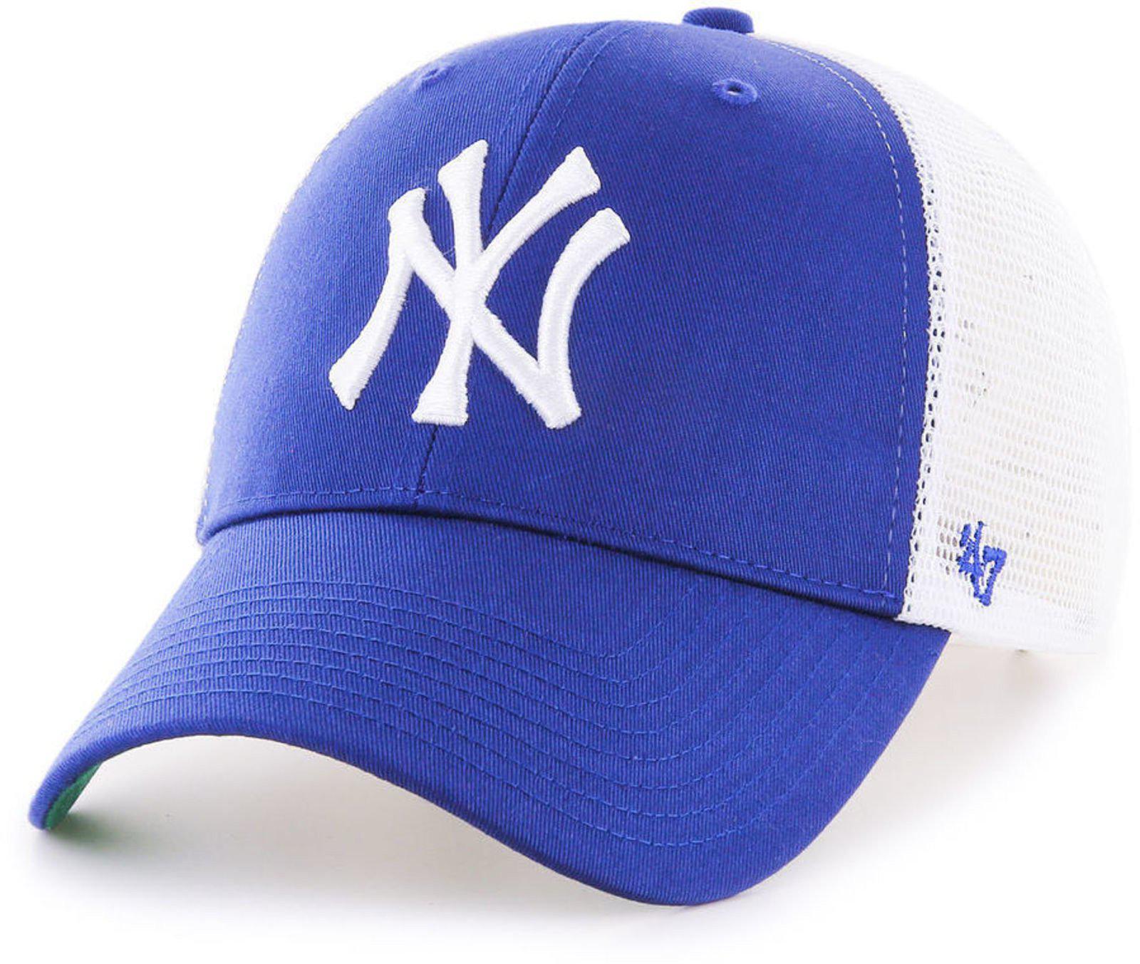 47 Brand New York Yankees Branson Mvp Trucker Cap in Blue for Men - Lyst 64237171858e