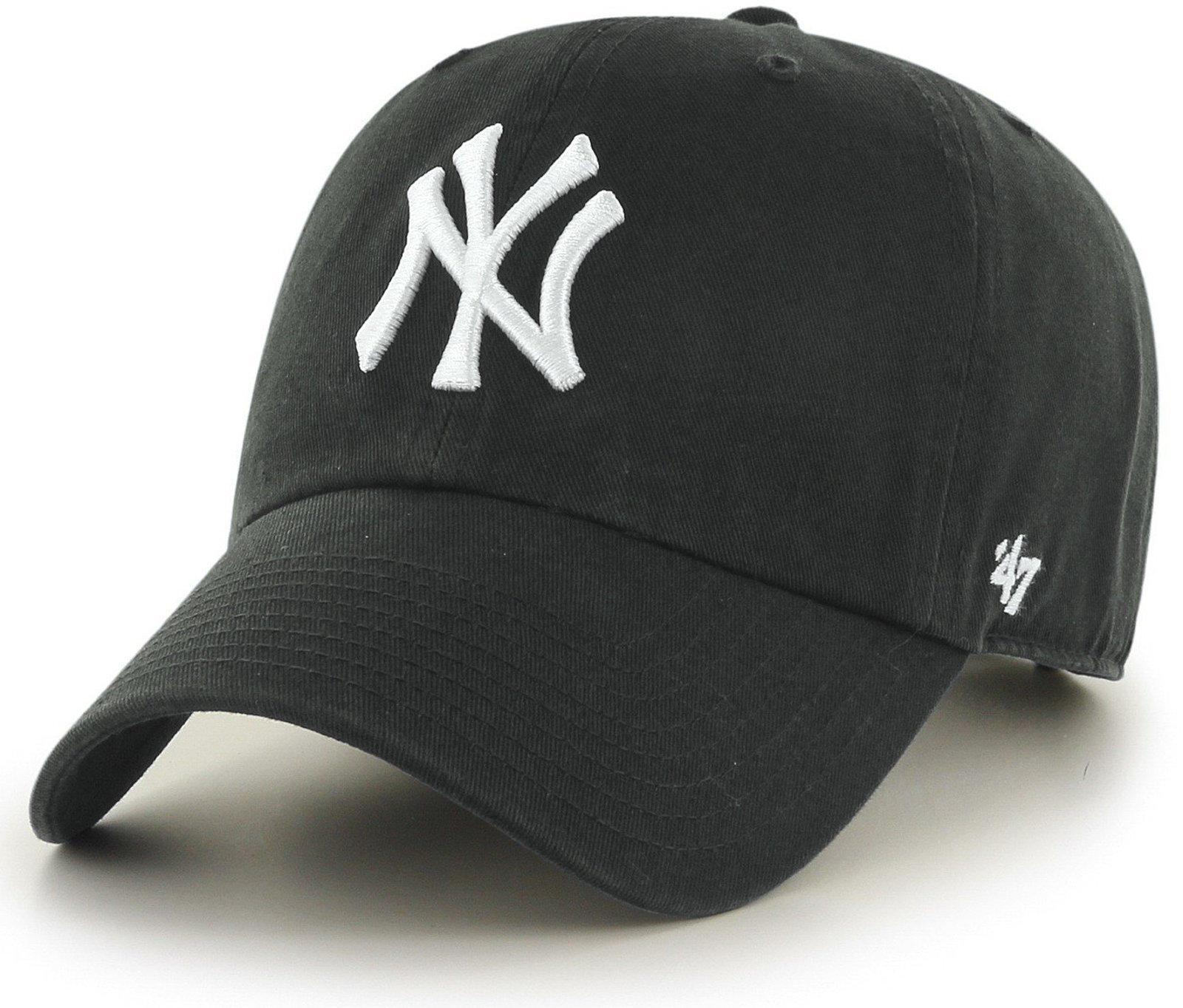 reputable site 40cd0 b82ee 47 Brand. Men s Gray Mlb New York Yankees  47 Clean Up ...