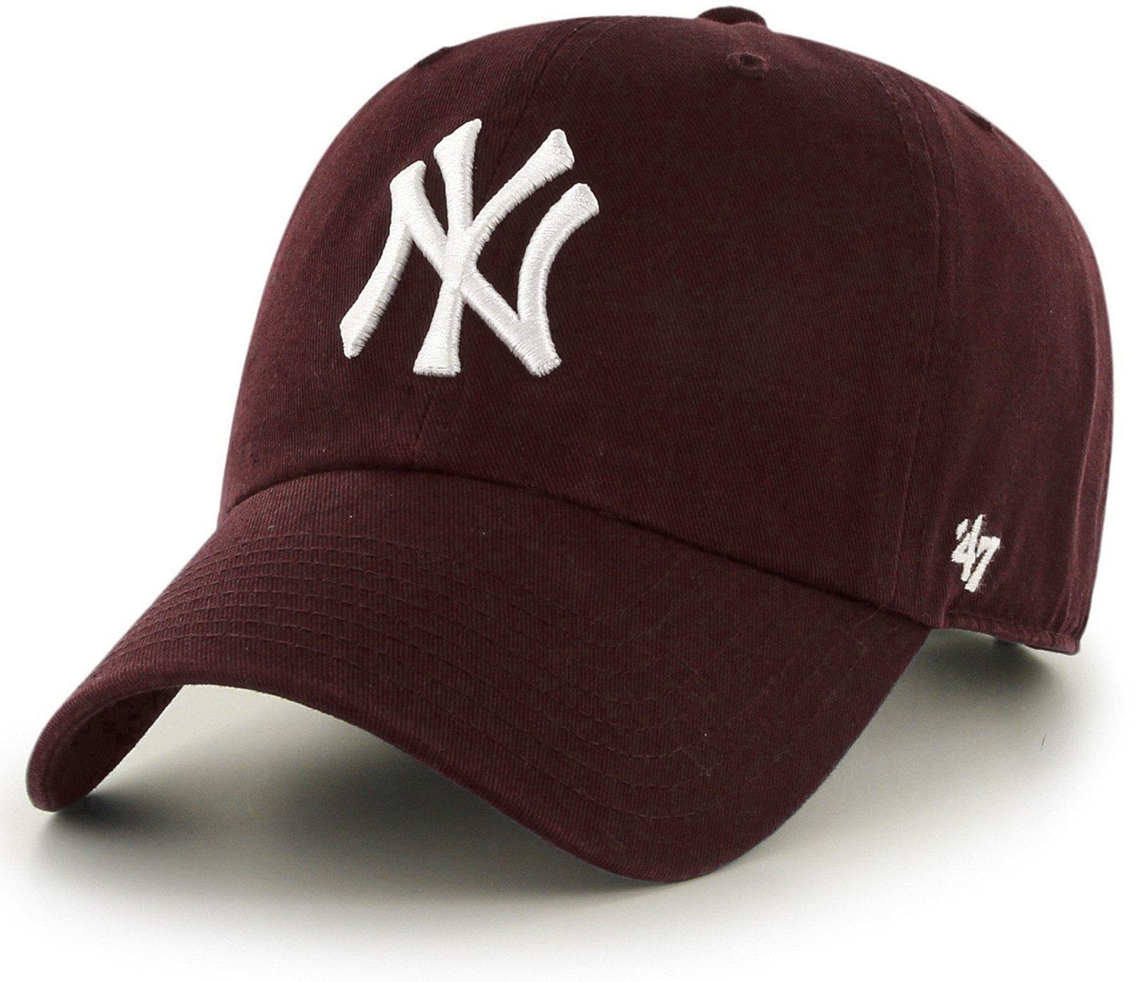 9d24d89a644 47 Brand Mlb New York Yankees  47 Clean Up Adjustable Baseball Cap ...