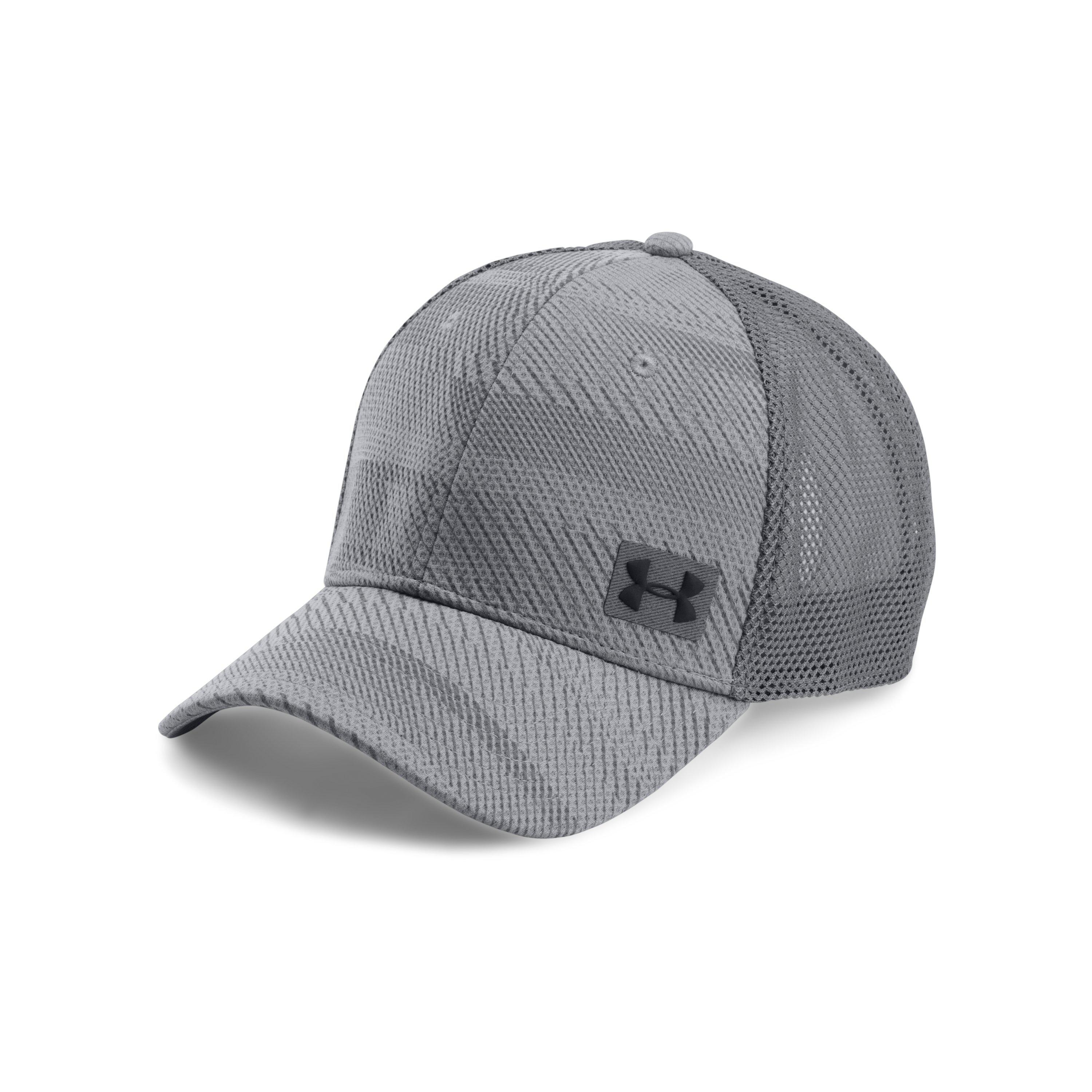 Lyst - Under Armour Men s Ua Blitz Trucker Cap in Gray for Men 0c2a1af89002