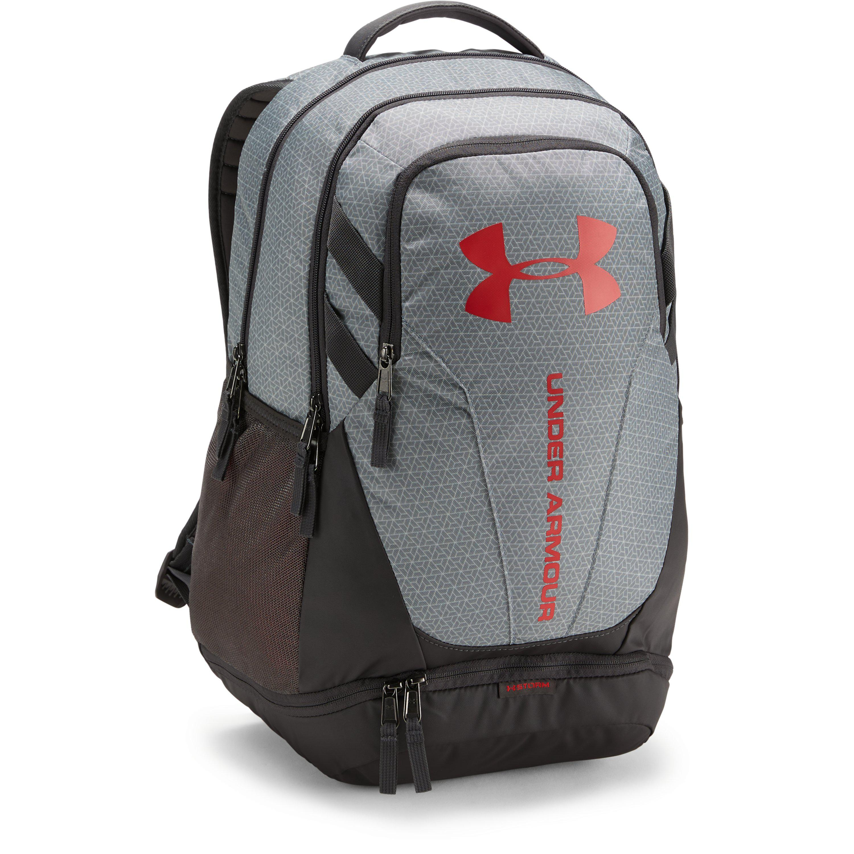 Lyst - Under Armour Hustle 3.0 Backpack in Gray for Men 357d5210d9866