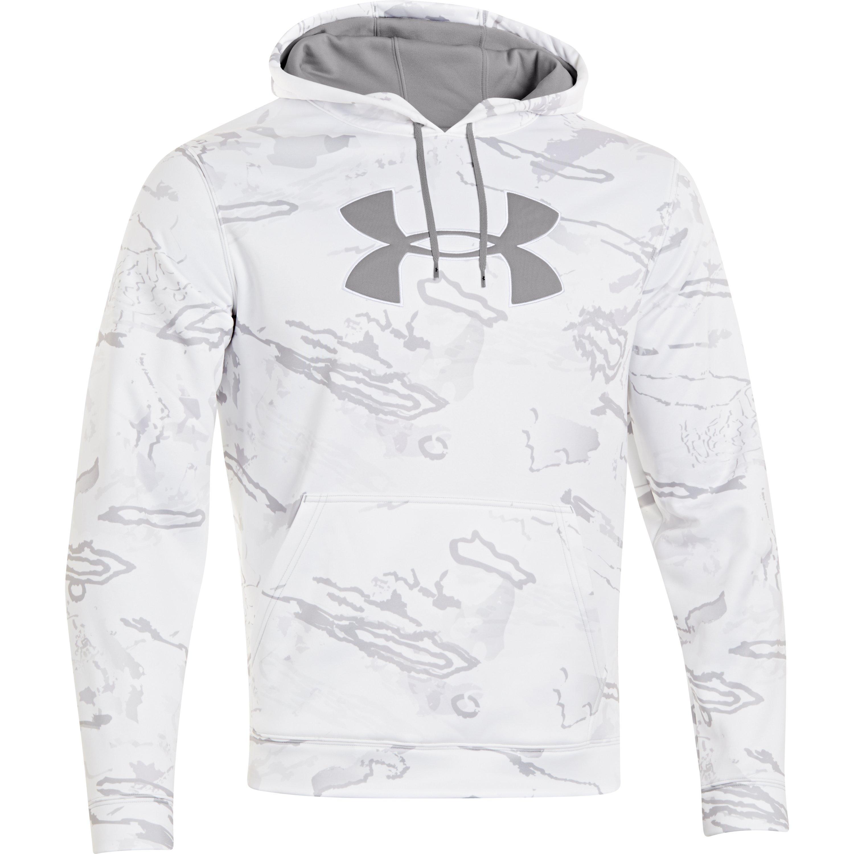 c108330b Under Armour Men's Armour® Fleece Camo Big Logo Hoodie in Gray for ...