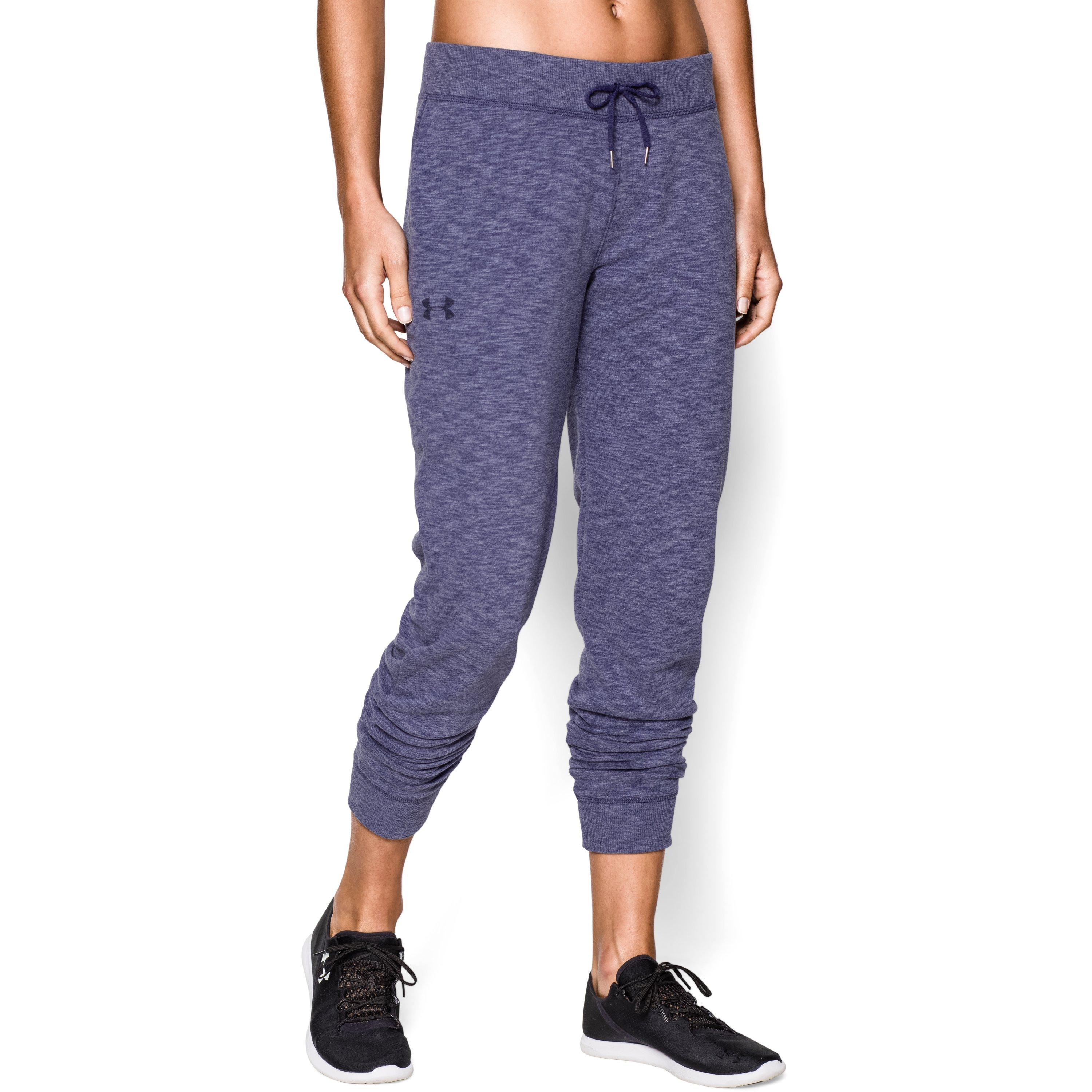 882a746927 Lyst - Under Armour Women's Ua Kaleidelogo Solid Pant in Blue