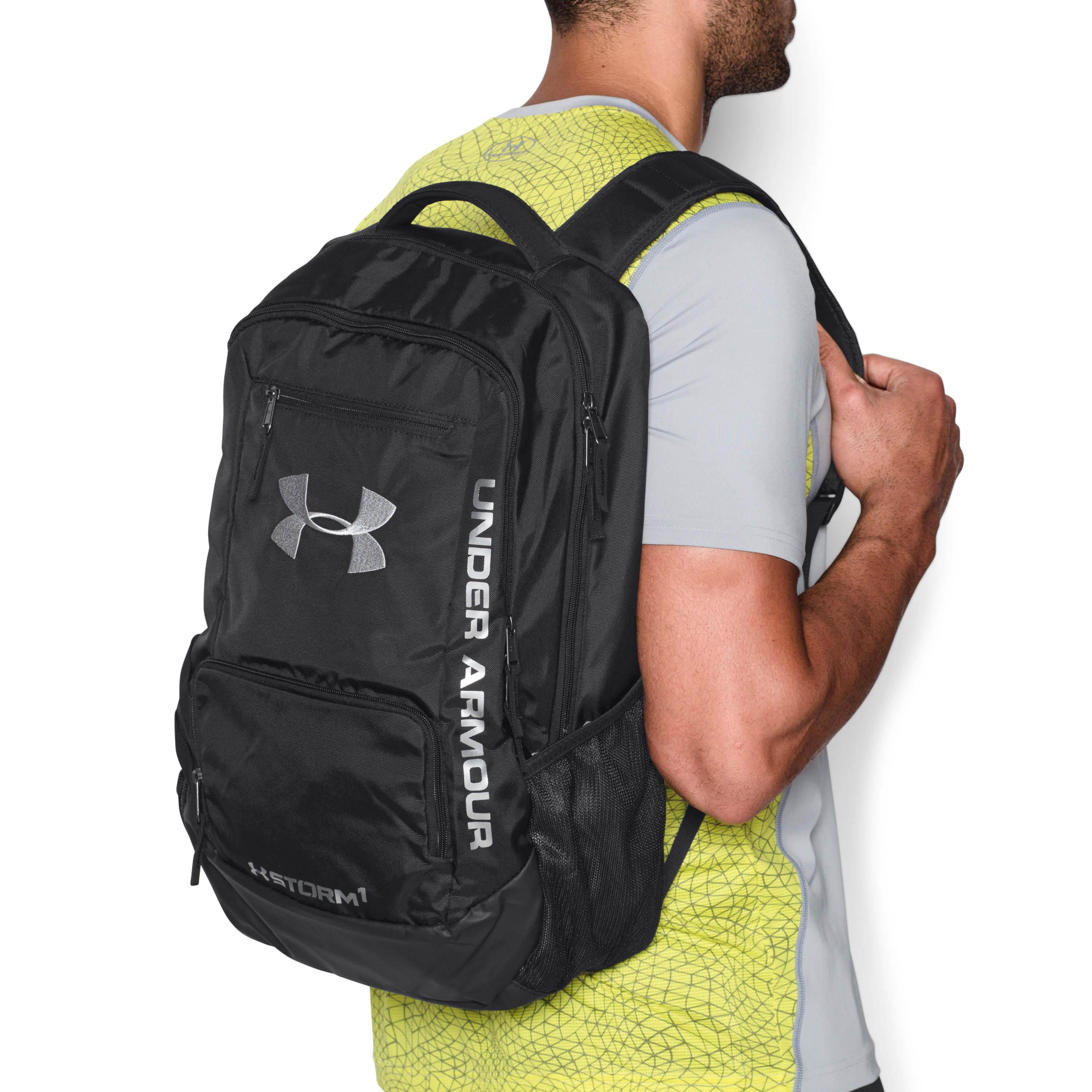 ebe1c4c124 Lyst - Under Armour Ua Storm Hustle Ii Backpack in Red for Men
