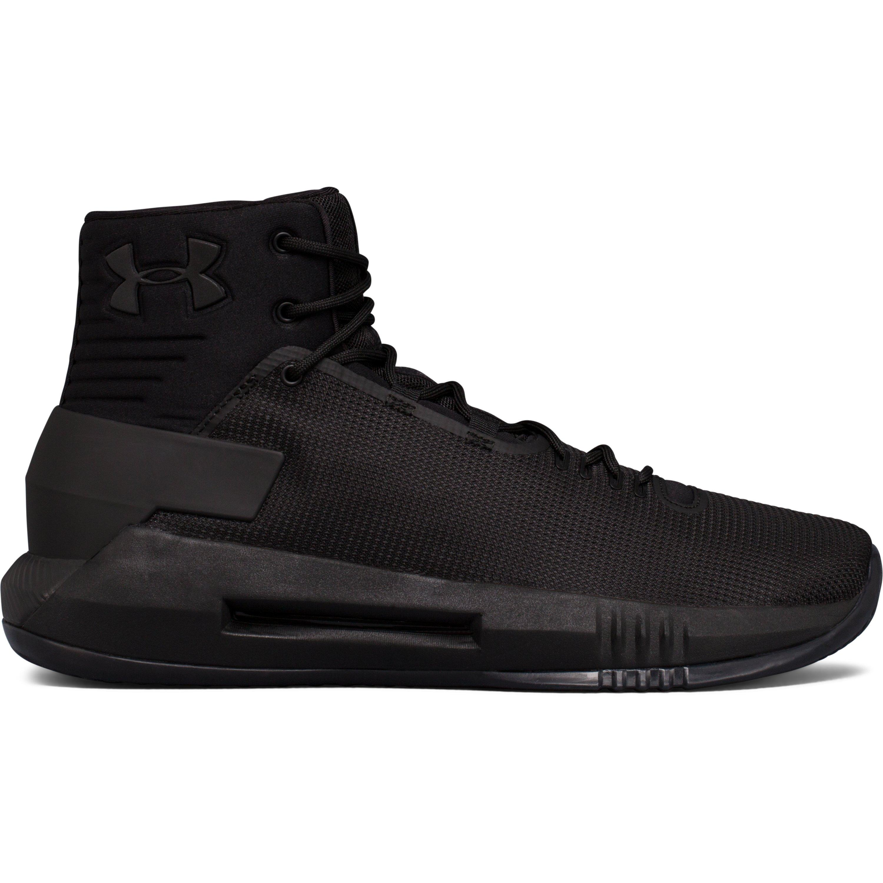 Under Armour Men S Ua Drive 4 Basketball Shoes In Black