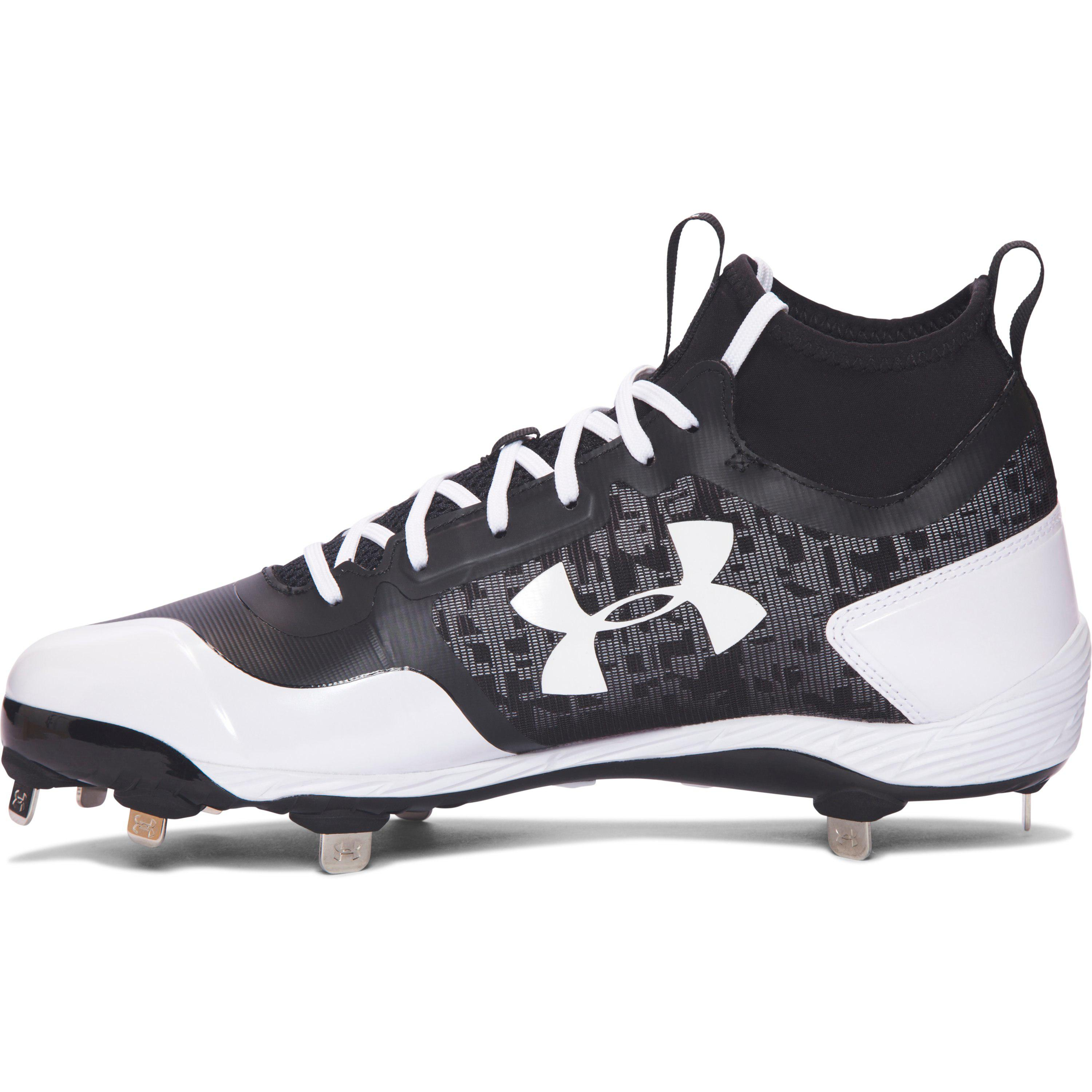 e72274f49db Under Armour Men s Ua Heater Mid St Baseball Cleats for Men - Lyst