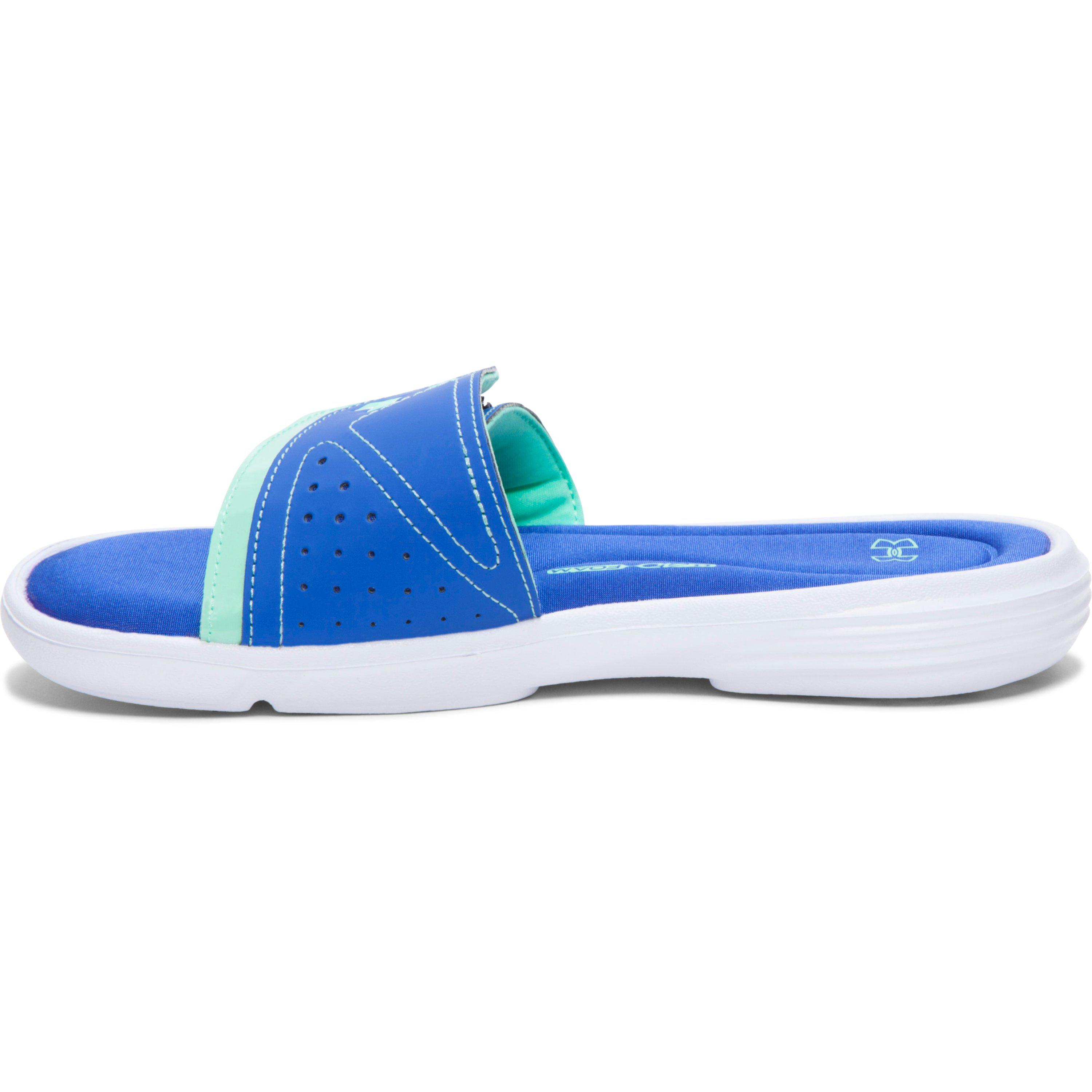 9208b7c0f Lyst - Under Armour Women s Ua Ignite Vii Slides