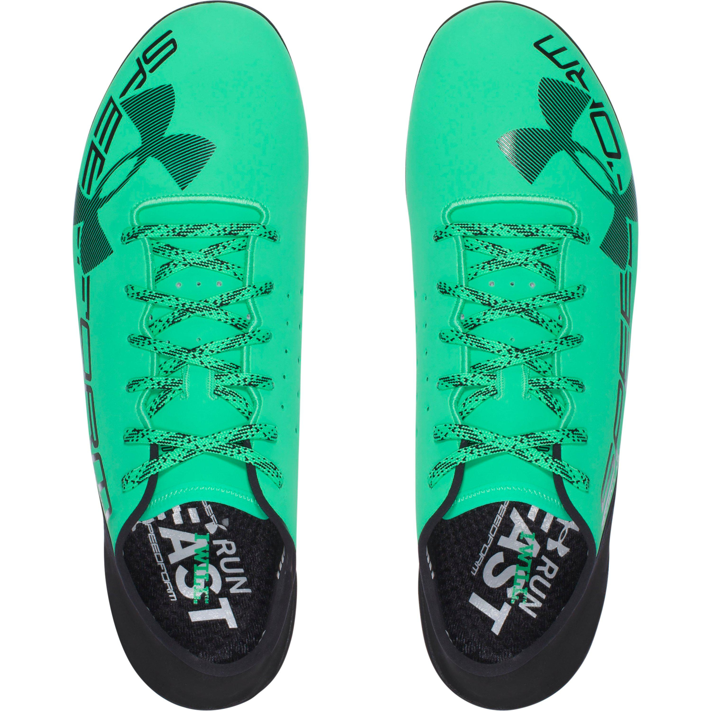 535e1957b ... discount code for under armour ua speedform sprint pro track spikes in  green for men be963