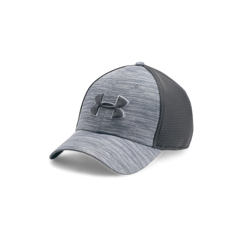 b74e0f67100 Lyst - Under Armour Men s Ua Golf Mesh Stretch 2.0 Cap in Gray for Men