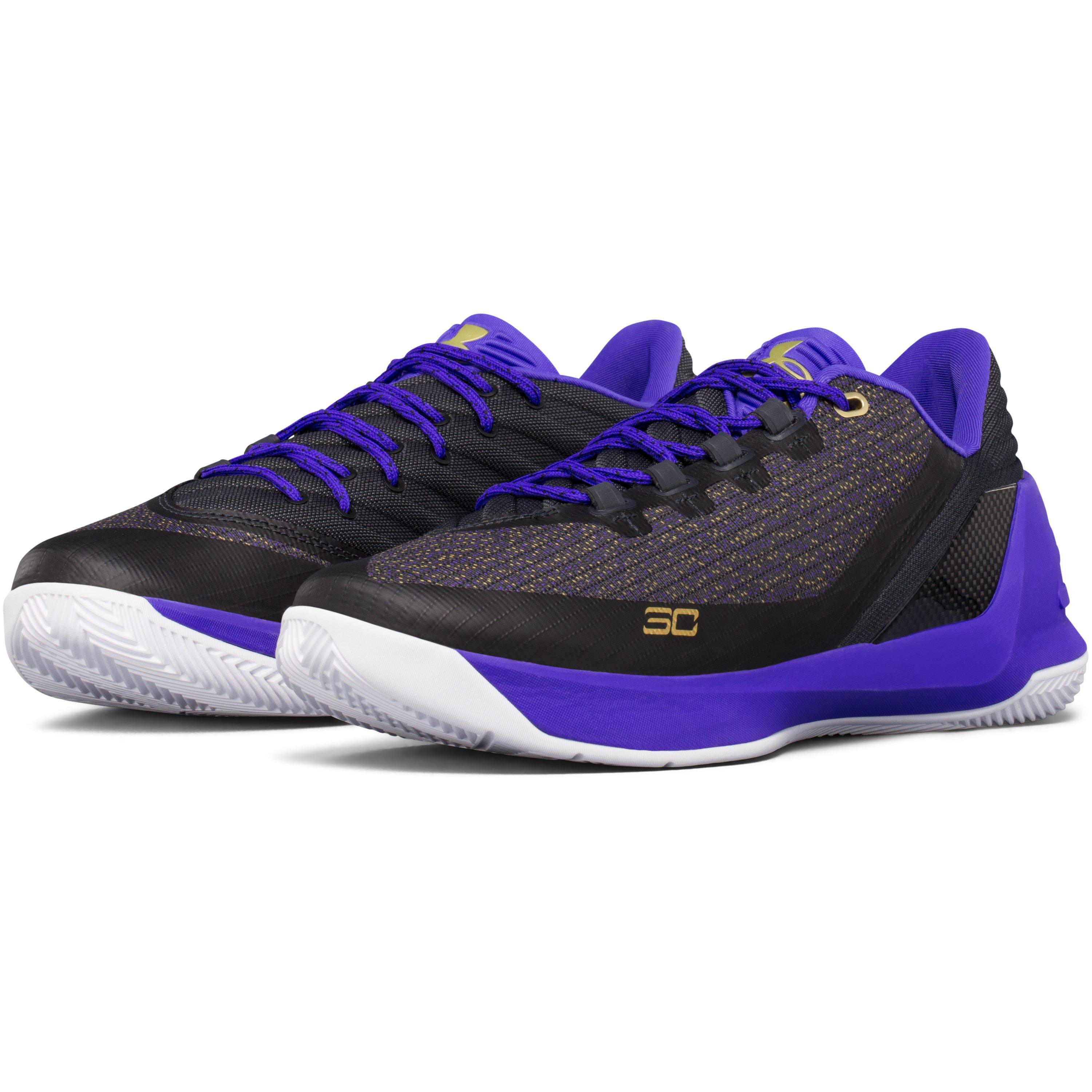 91de7085376e ... Lyst - Under Armour Men s Ua Curry 3 Low Basketball Shoes in Purple .