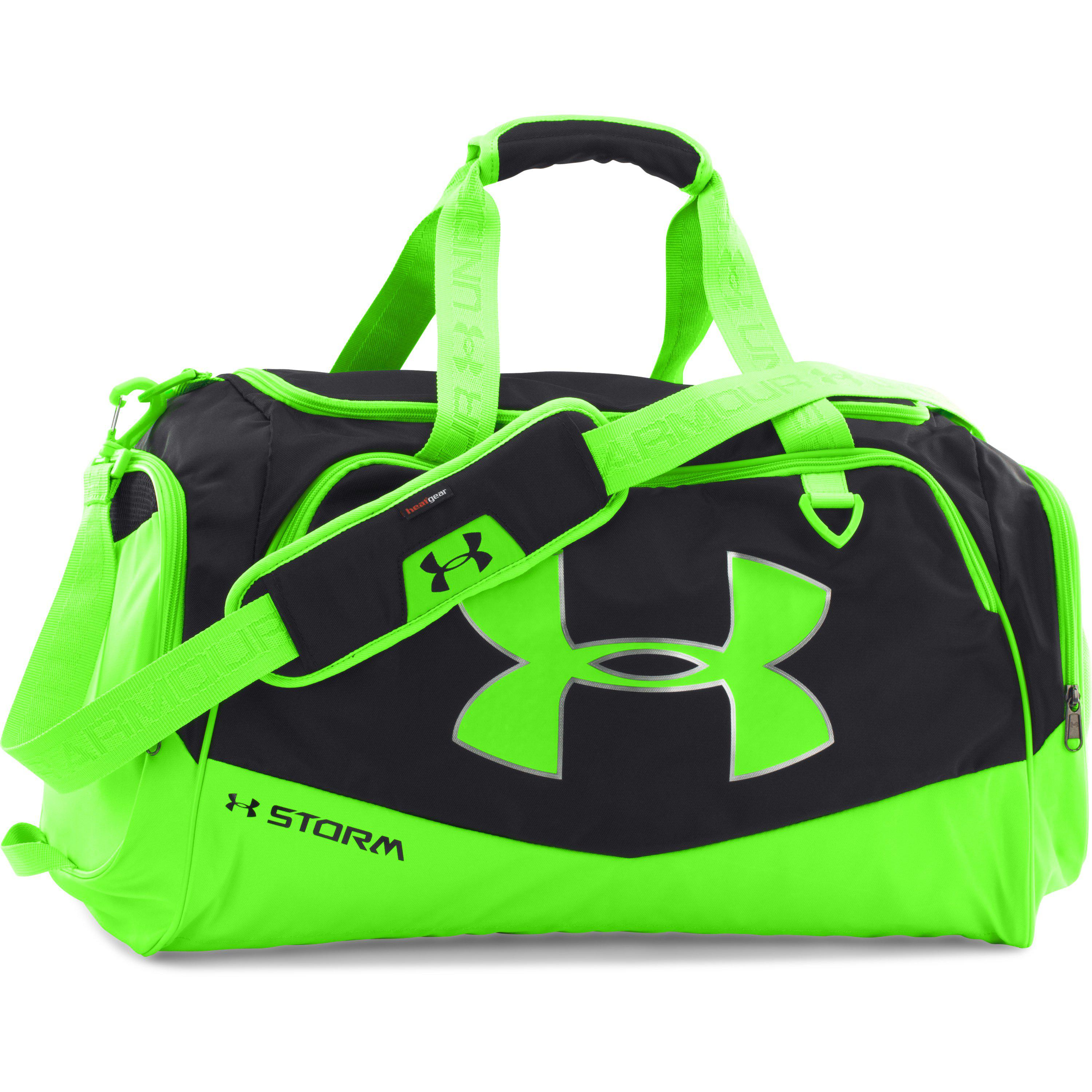 84bdaa3e848a Lyst - Under Armour Ua Storm Undeniable Ii Md Duffle in Green for Men