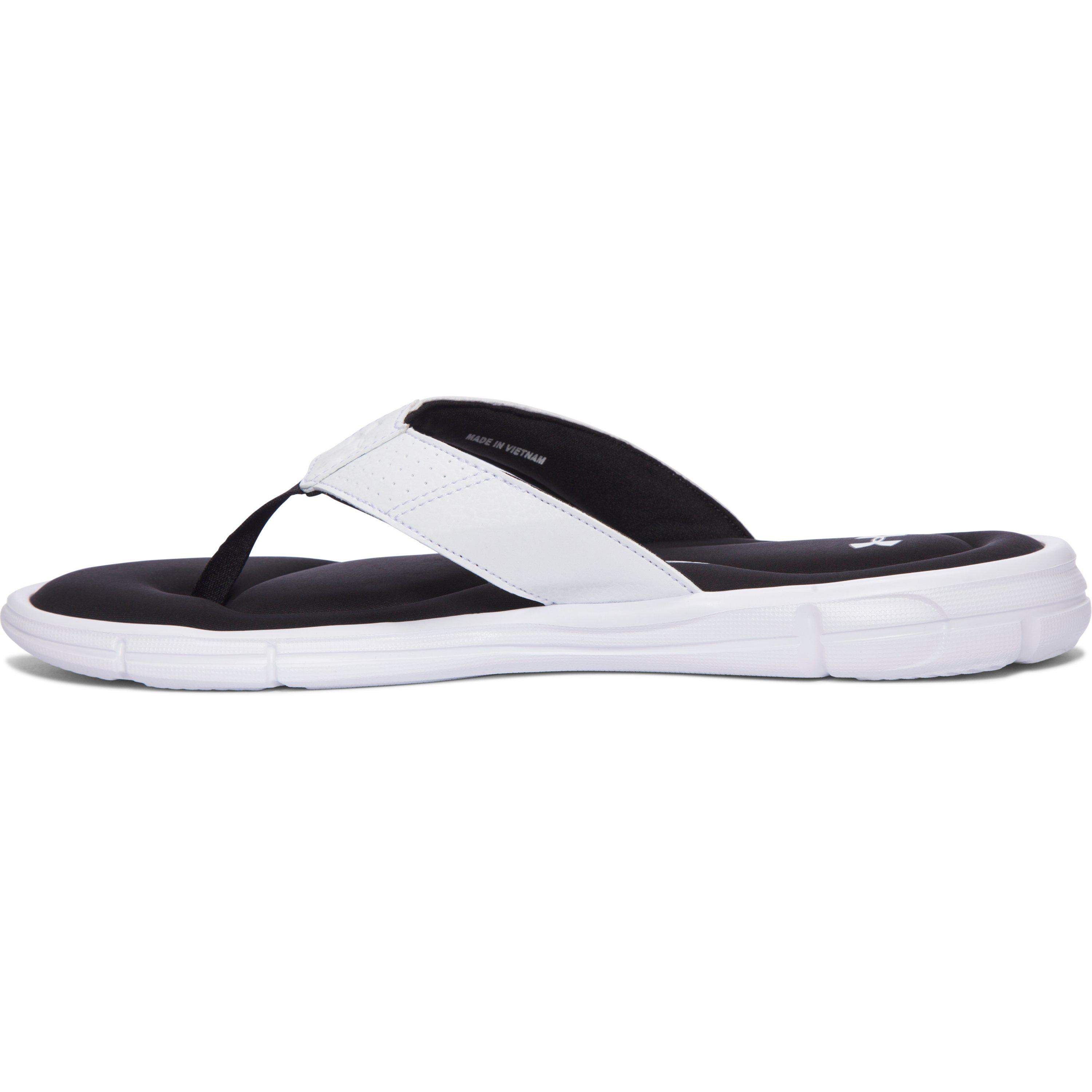 03e42a6f81d4 Under Armour Ignite Ii Thong Flip Flops in White for Men - Lyst