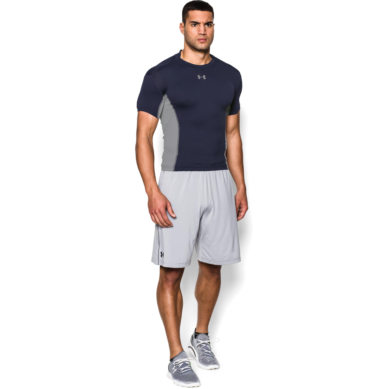 24d1b0cf6d6 Lyst - Under Armour Men s Ua Heatgear® Armour® Stretch Short Sleeve ...