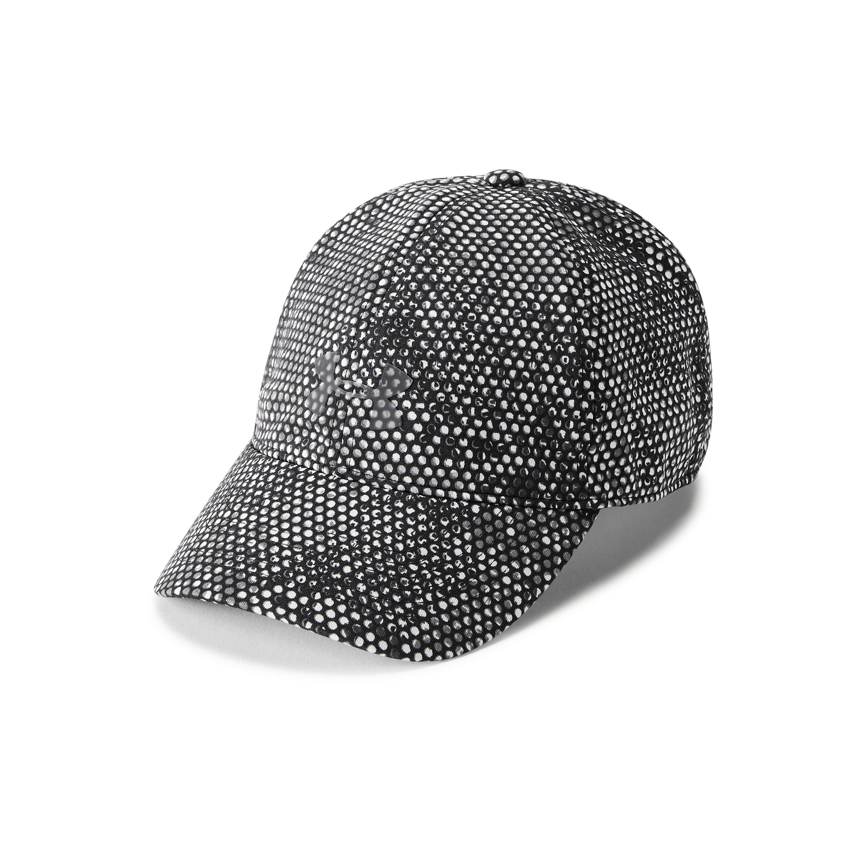finest selection 62036 602be Under Armour Women s Ua Microthread Renegade Printed Cap in Black - Lyst