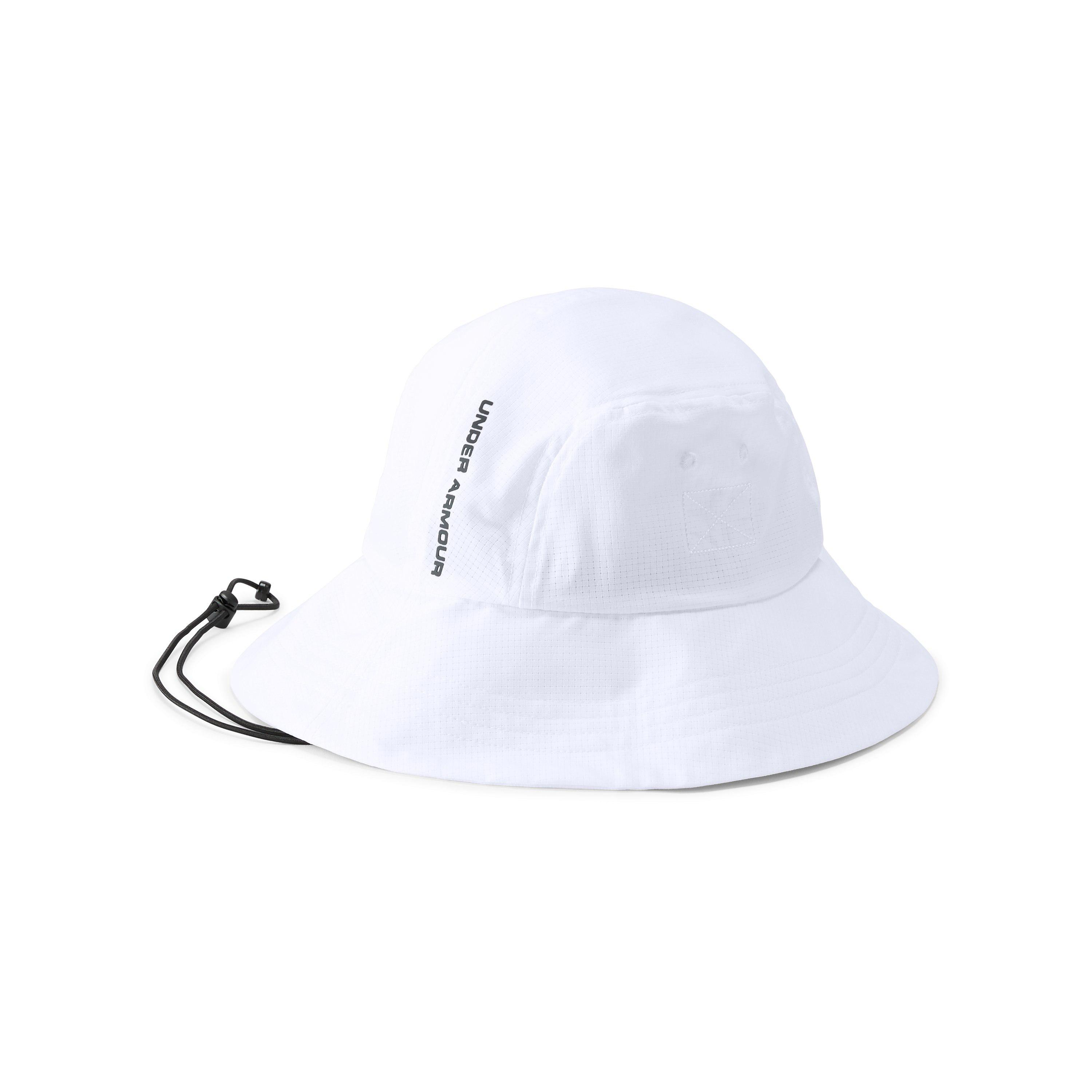 3947ad9ba92 ... clearance lyst under armour mens ua armourventtm bucket 2.0 hat in white  59e2b 163ec