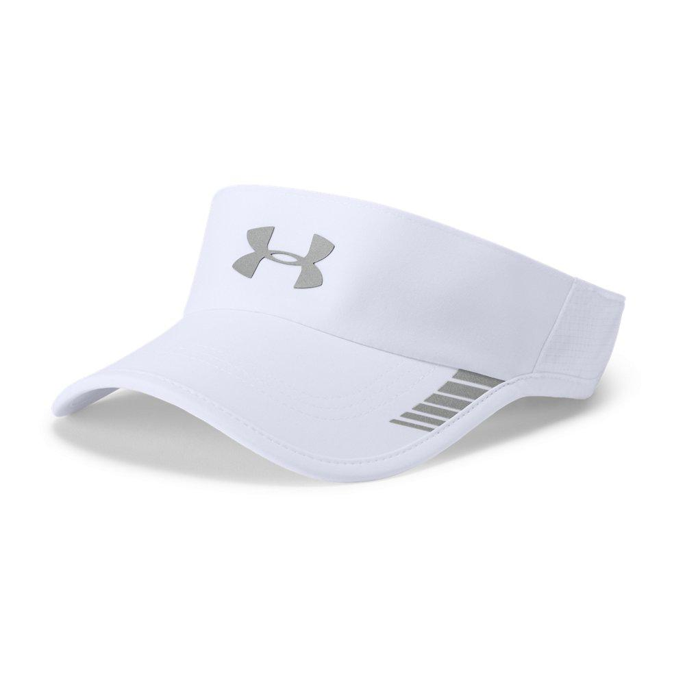 fa985907143 Lyst - Under Armour Launch Armourvent Visor in White for Men