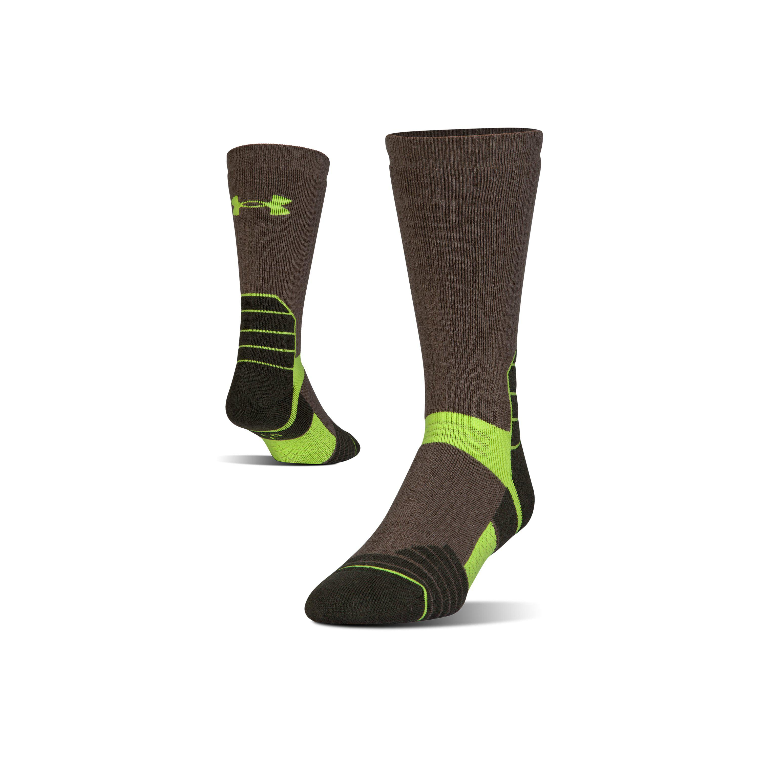 a804409e7 Lyst - Under Armour Men's Ua Scent Control Boot Socks in Green for Men