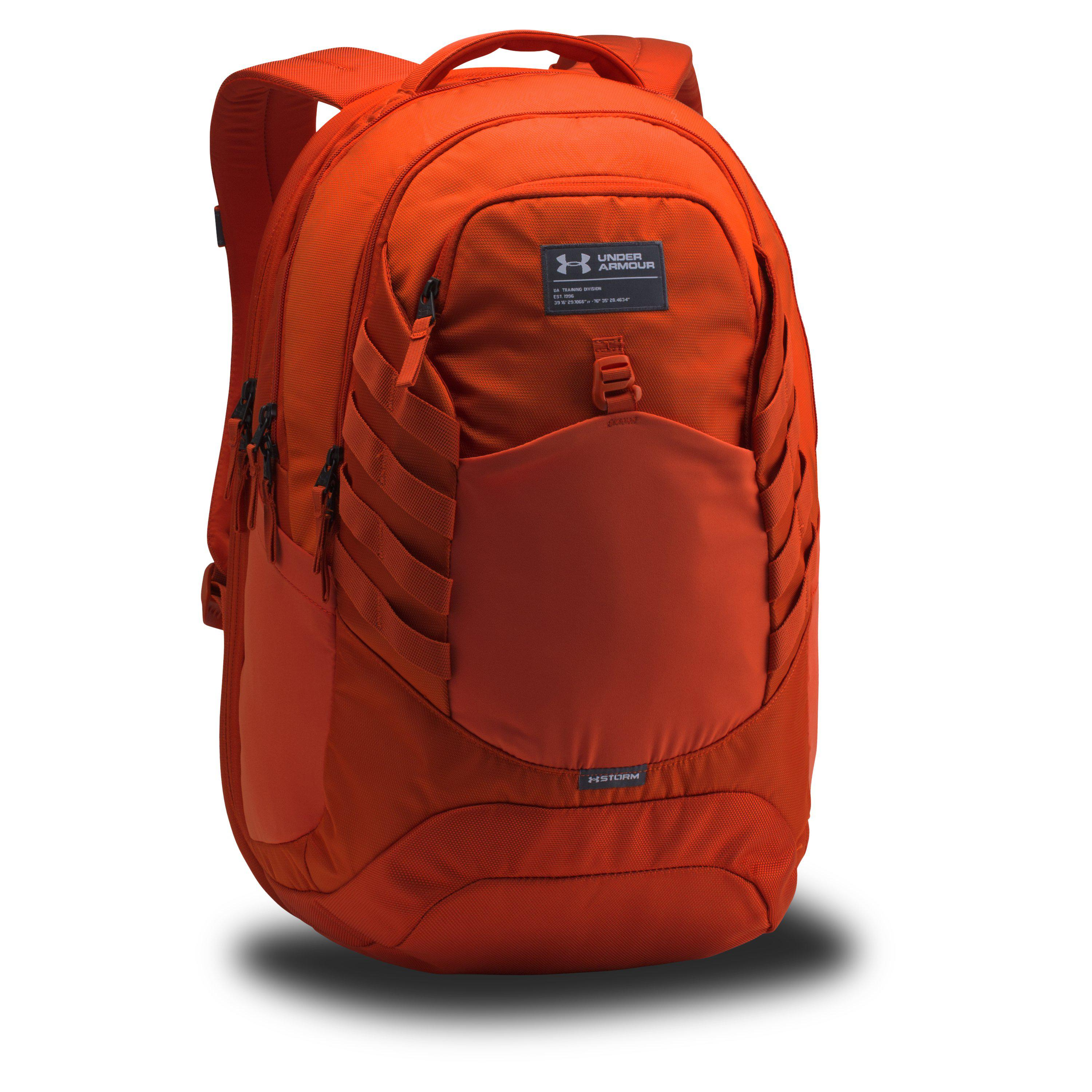 612c5fa95fe7 Lyst - Under Armour Men s Ua Hudson Backpack in Red for Men