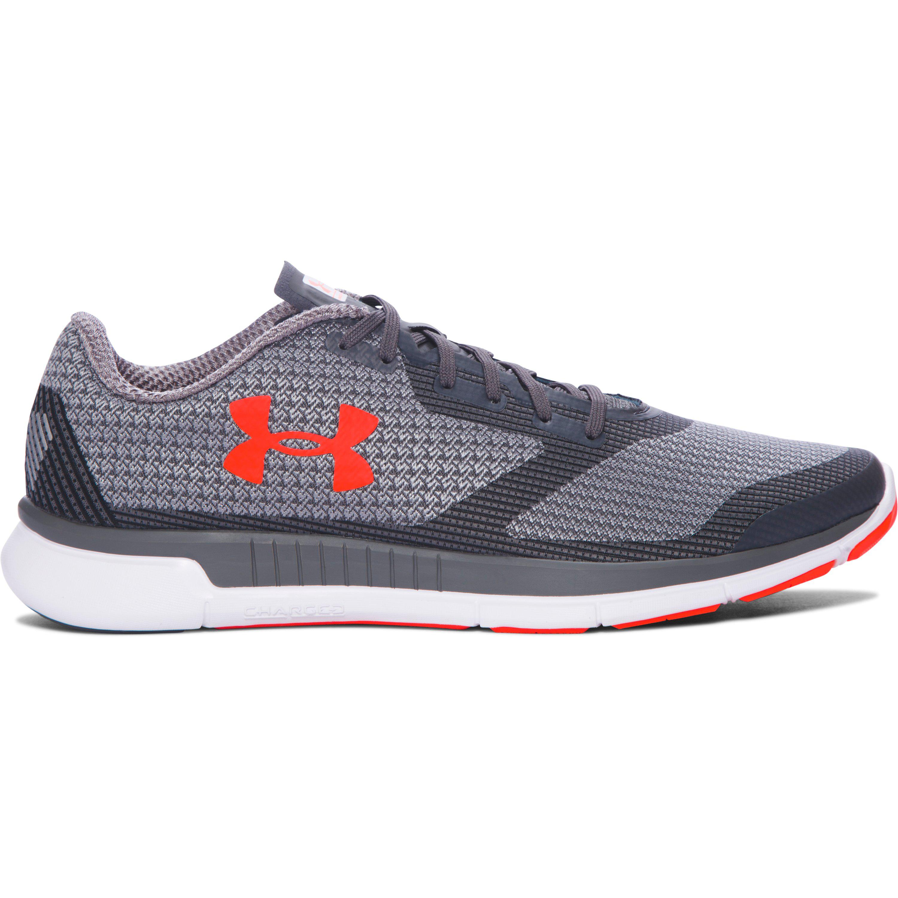 Under Armour. Men's Gray Charged Lightning Training Shoes