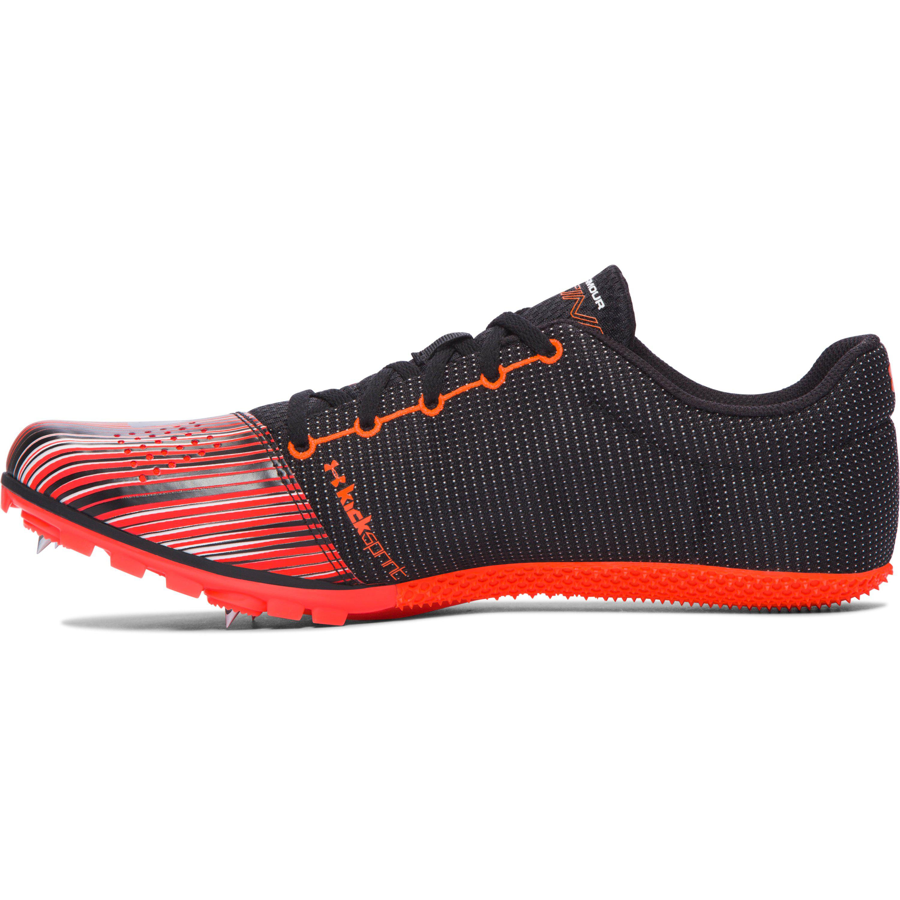 71d3dd41f0 Under Armour Men's Ua Kick Sprint Track Spikes in Red for Men - Lyst