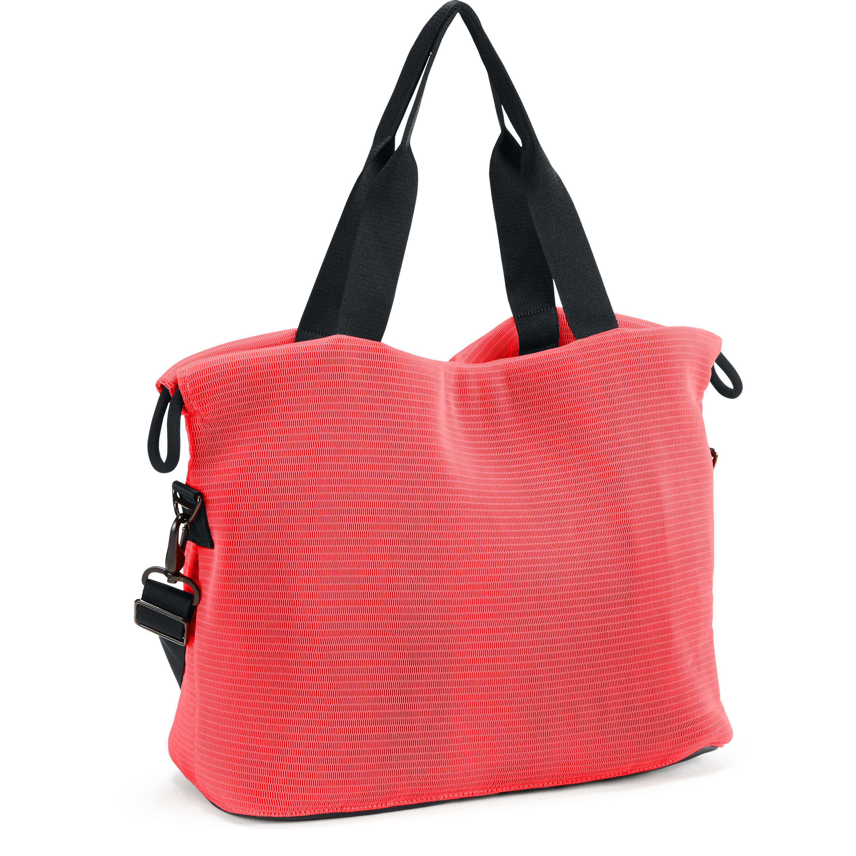 Lyst - Under Armour Women s Ua Cinch Mesh Tote in Red ef8dcf6b85bf7