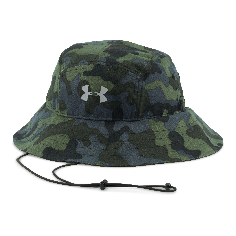 e5c9f9e3a9dbb Lyst - Under Armour Men s Ua Armourventtm Bucket Hat in Green for Men