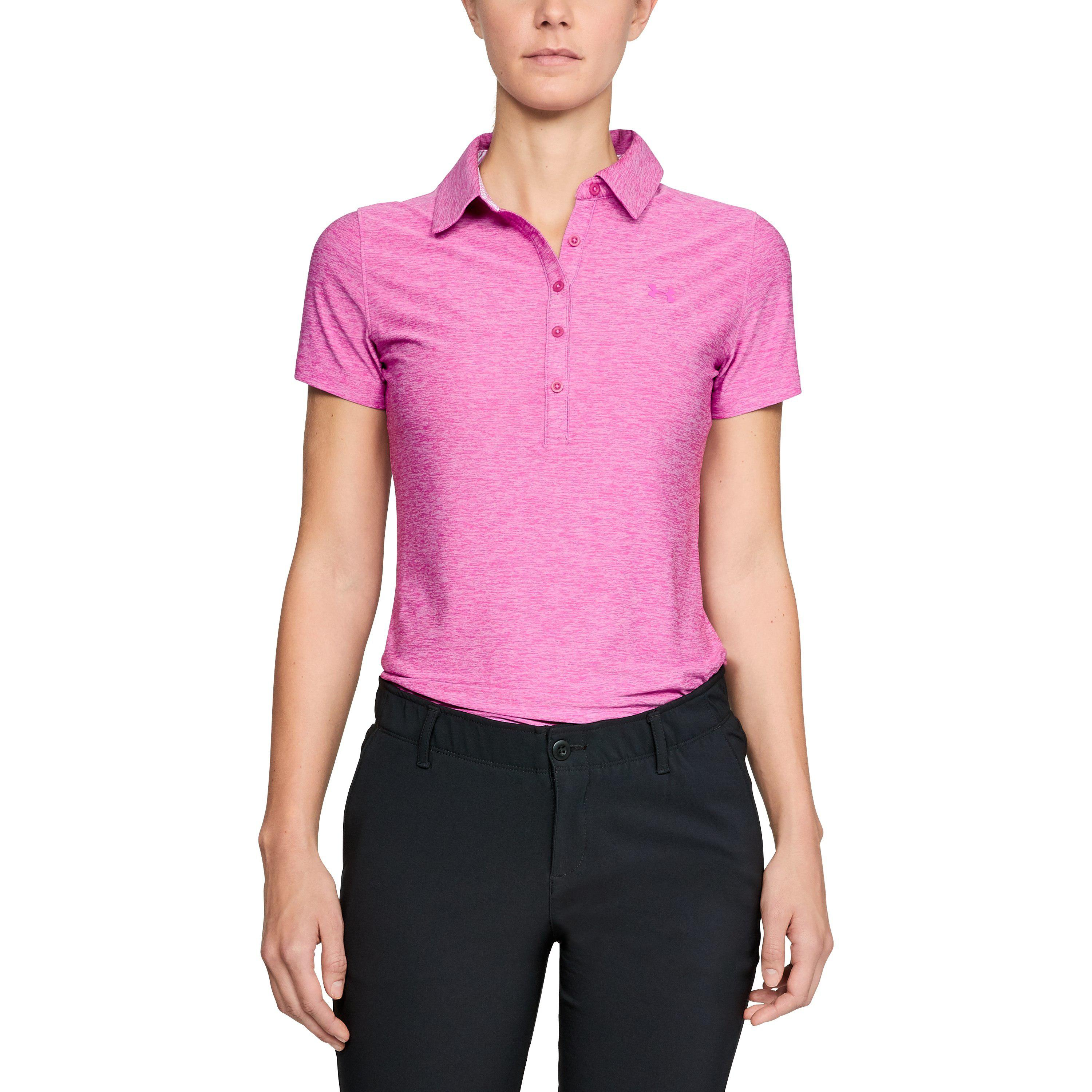 9bff7c156 Lyst - Under Armour Women s Ua Zinger Short Sleeve Polo